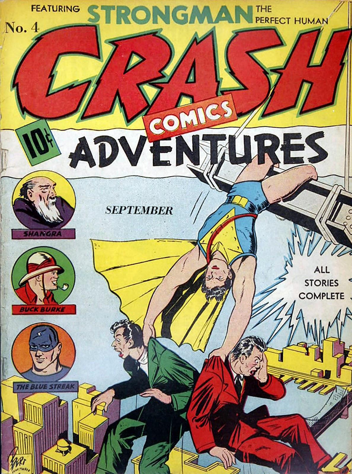 Crash Comics Adventures 4 Page 1