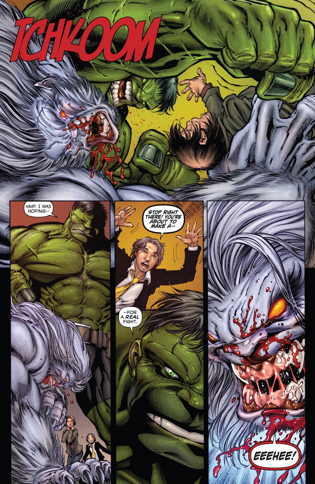 Read online Incredible Hulks (2010) comic -  Issue # _TPB Heart of the Monster - 35