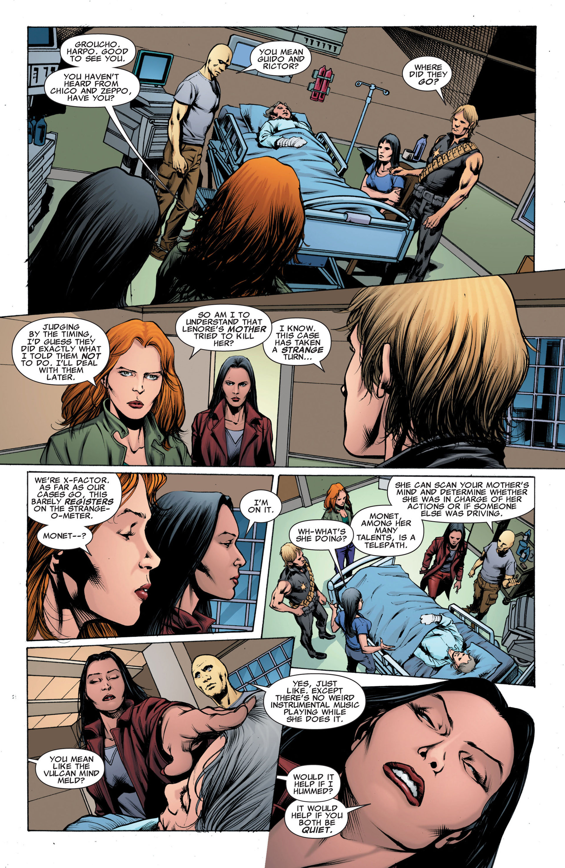 Read online X-Factor (2006) comic -  Issue #43 - 17