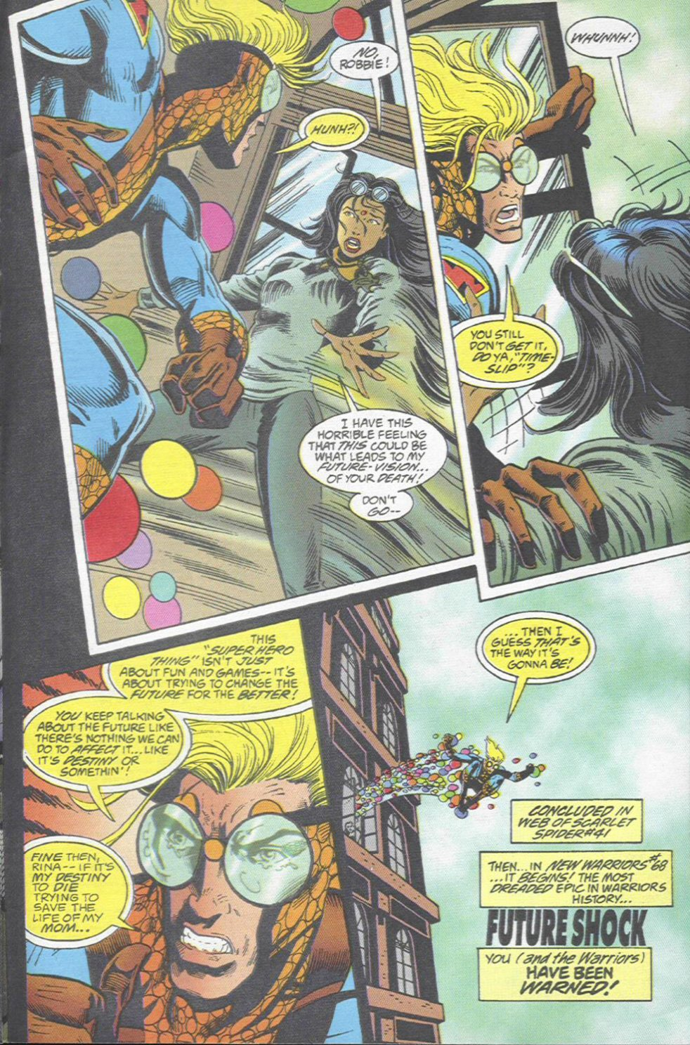 The New Warriors Issue #67 #71 - English 23