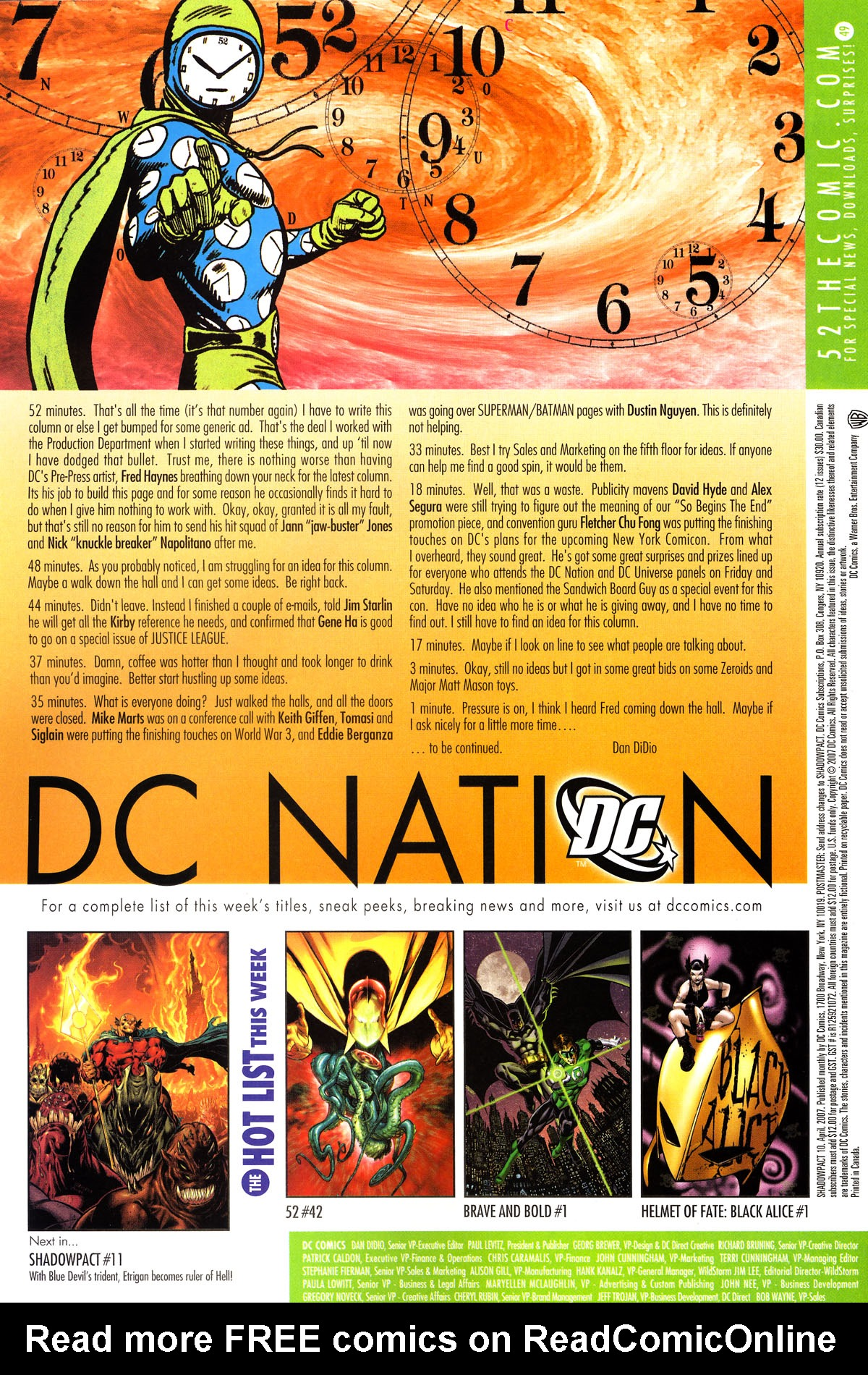 Read online Shadowpact comic -  Issue #10 - 24