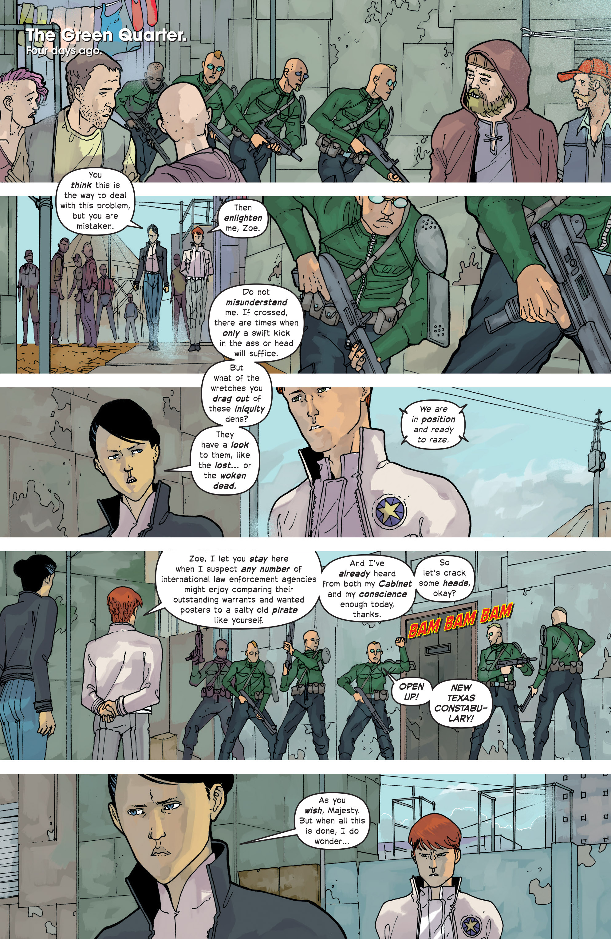 Read online Great Pacific comic -  Issue #14 - 12