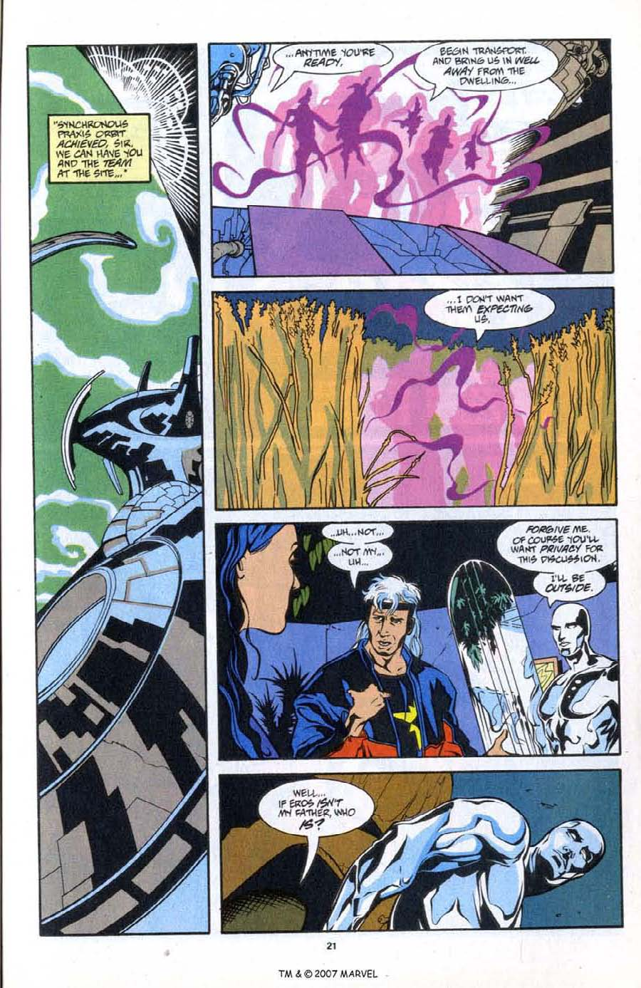 Read online Silver Surfer (1987) comic -  Issue # _Annual 6 - 23