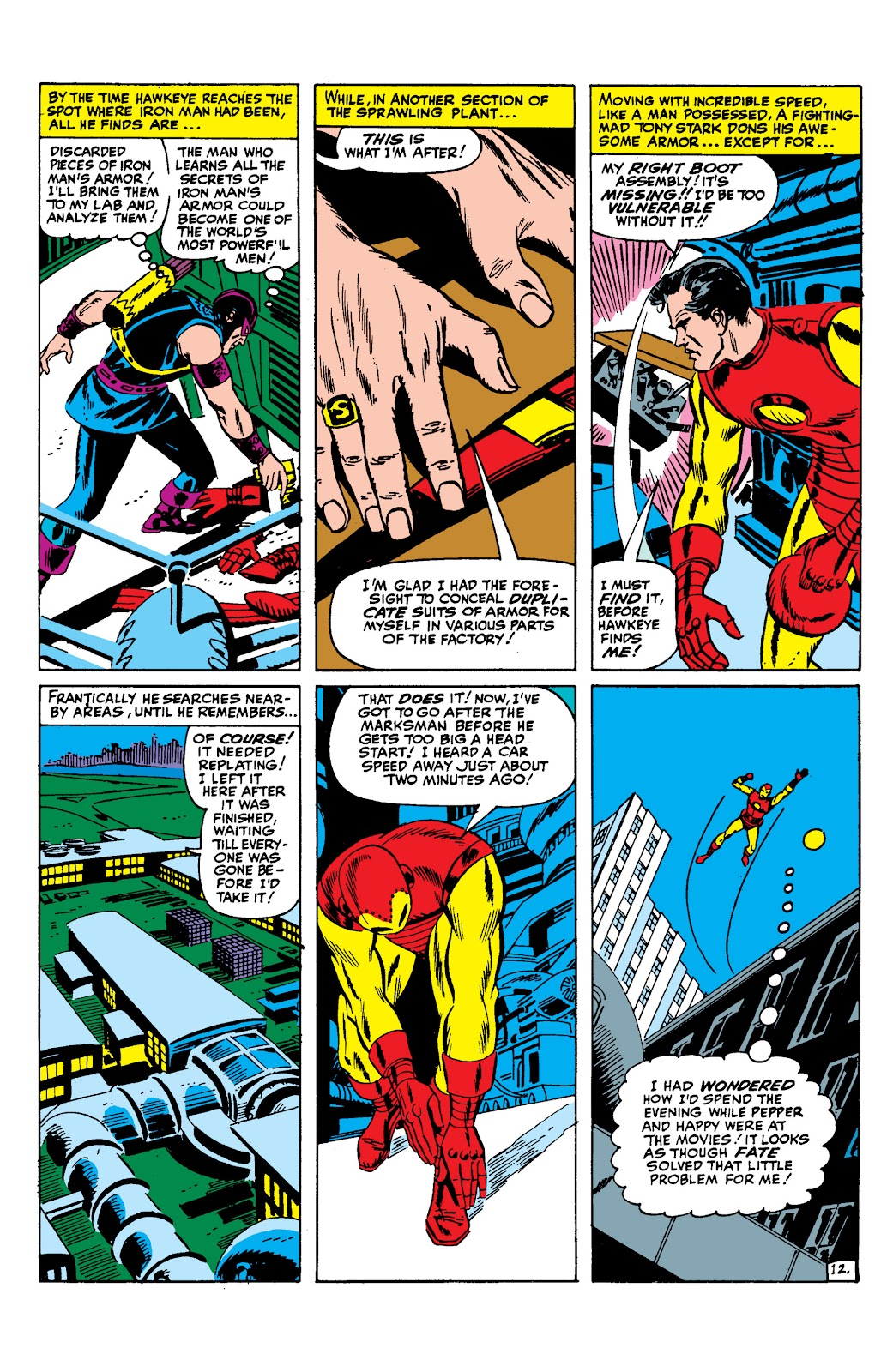 Read online Marvel Masterworks: The Invincible Iron Man comic -  Issue # TPB 2 (Part 2) - 13