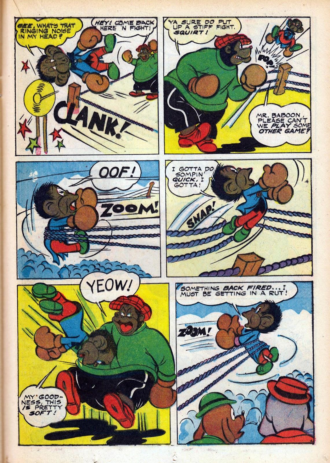 Read online Comedy Comics (1942) comic -  Issue #15 - 35