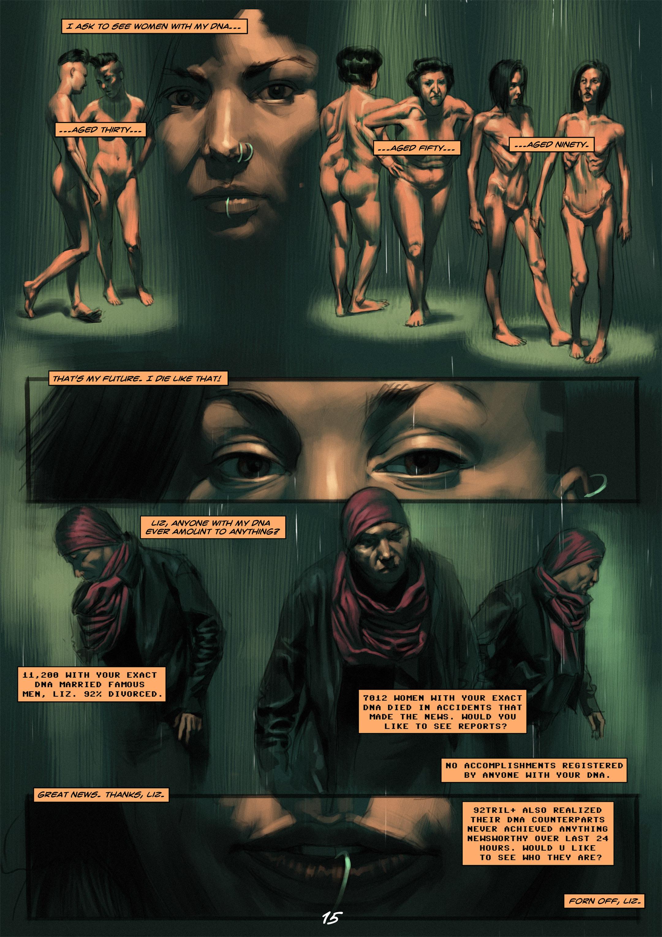 Read online Wynter comic -  Issue #1 - 15