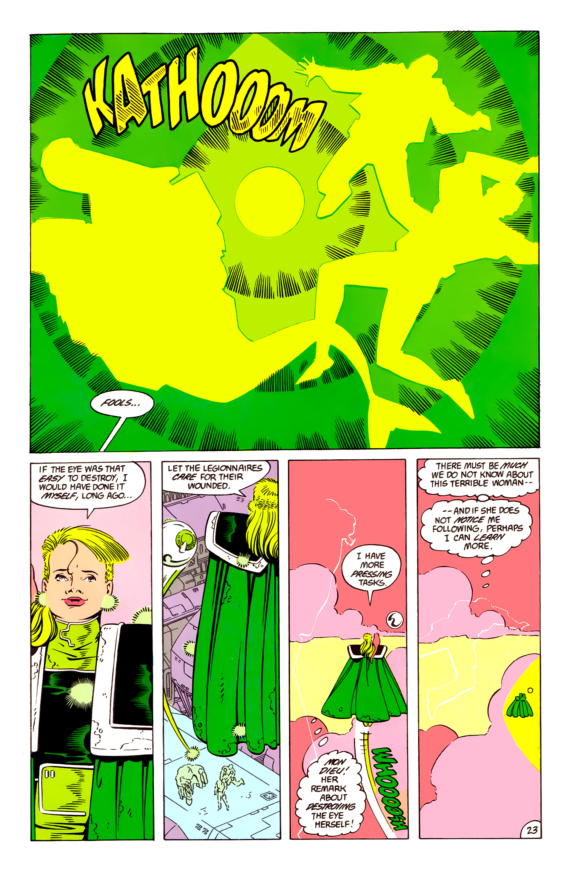 Legion of Super-Heroes (1984) 57 Page 23