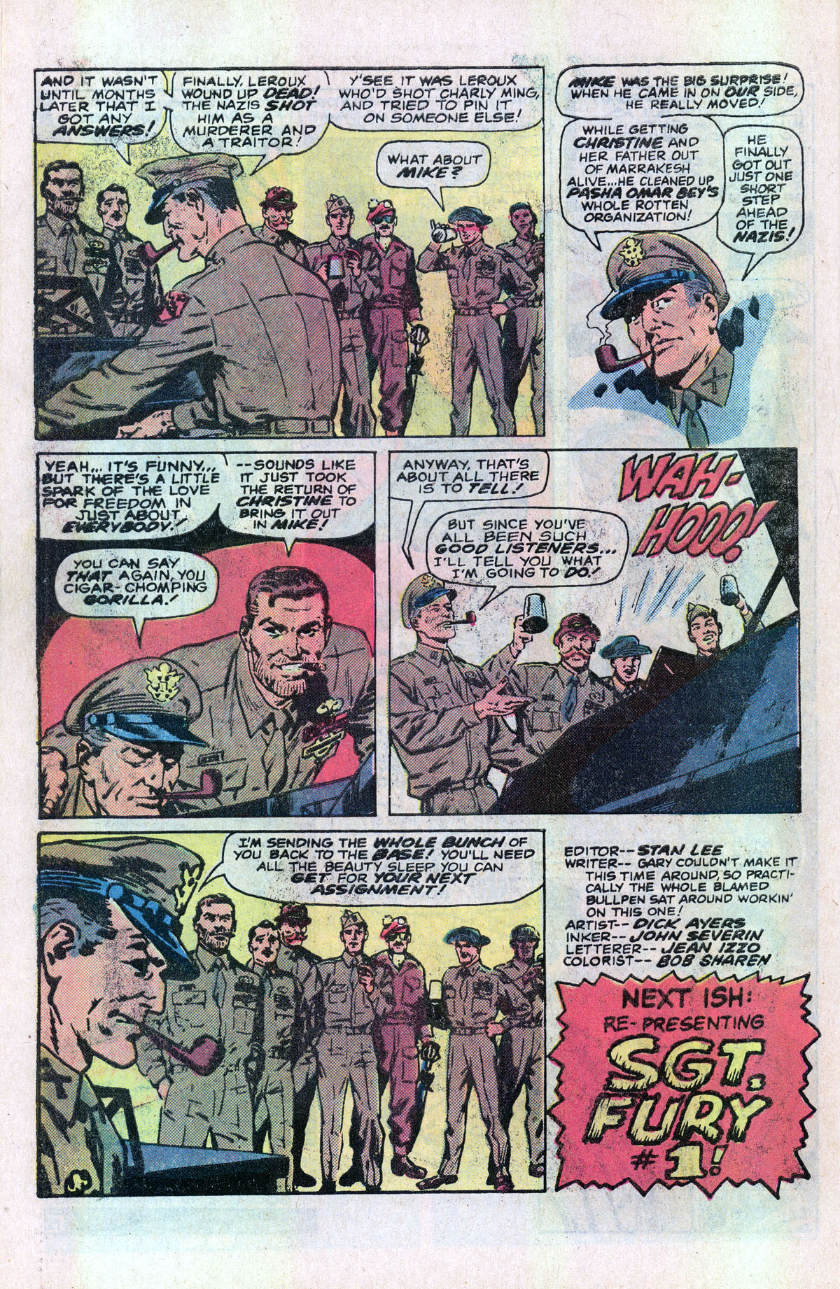 Read online Sgt. Fury comic -  Issue #166 - 29