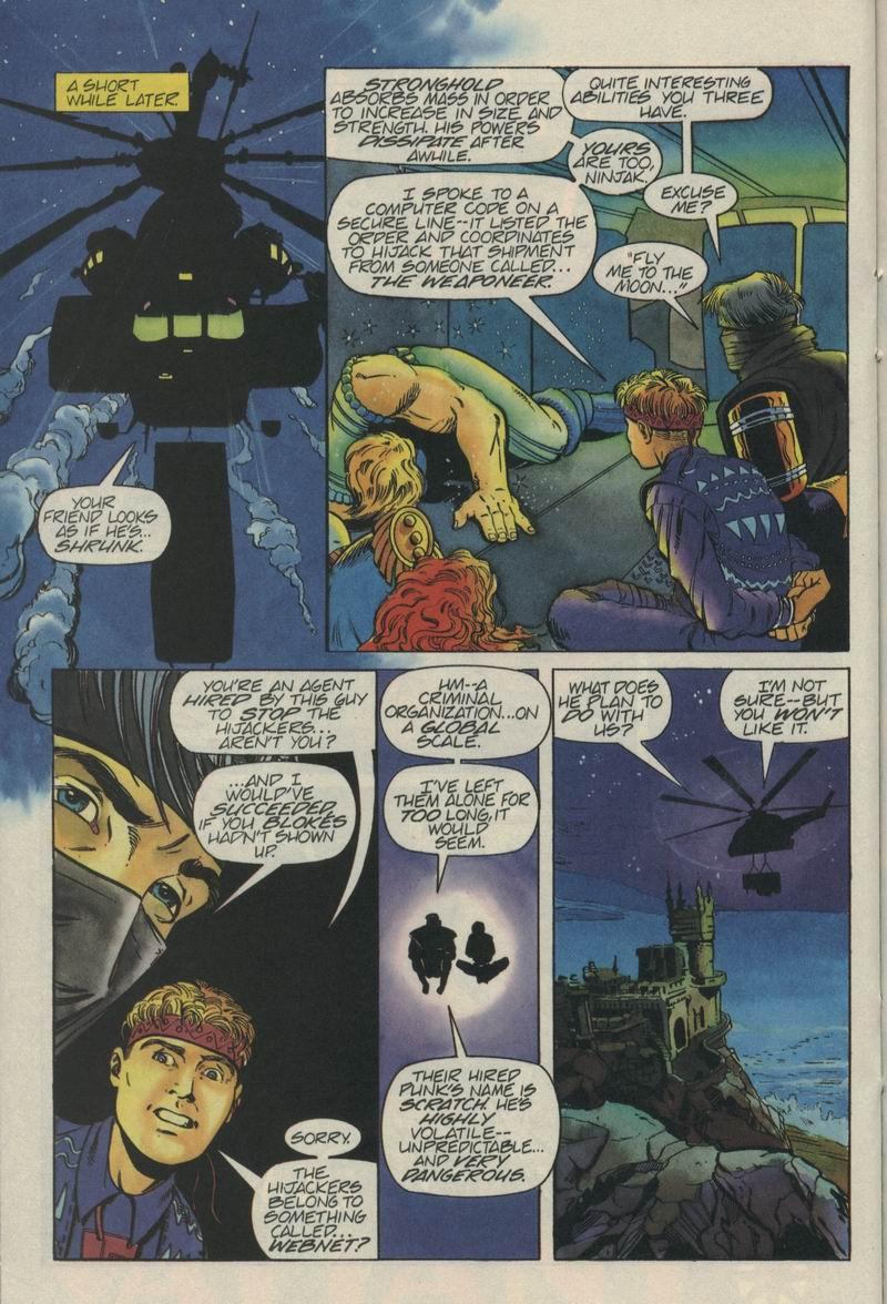 Read online Secret Weapons comic -  Issue #5 - 16