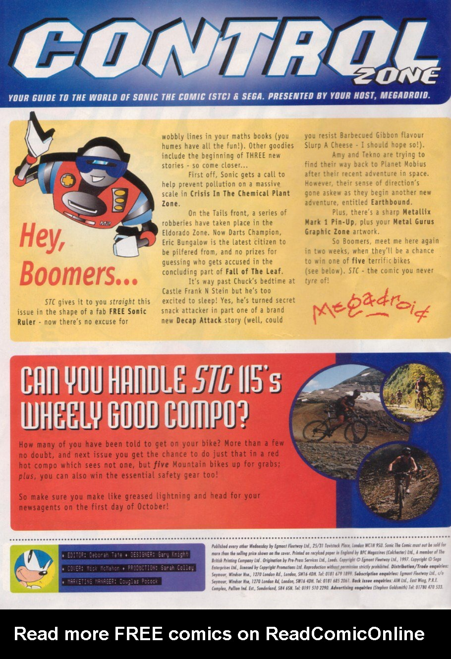 Read online Sonic the Comic comic -  Issue #114 - 2