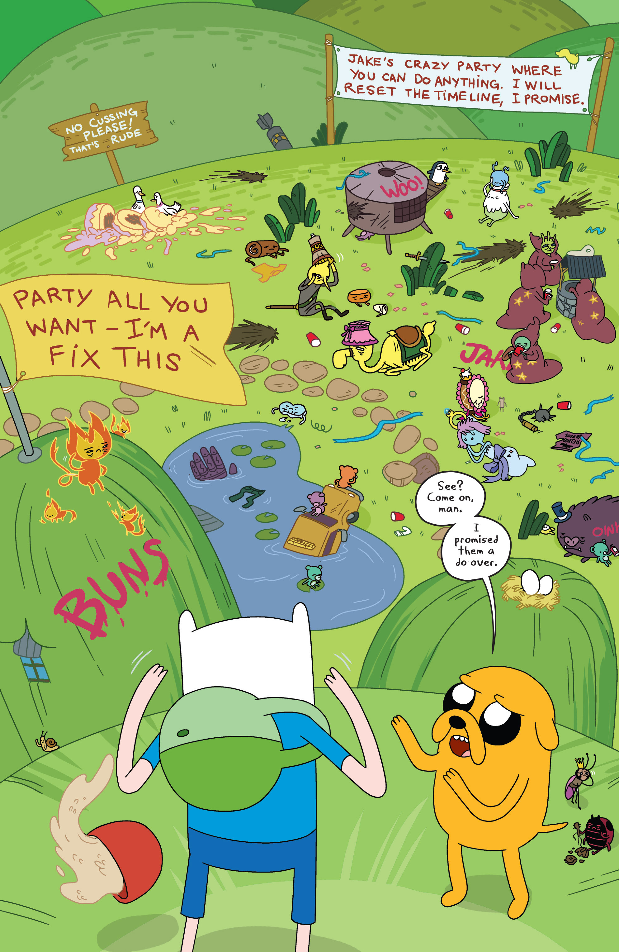 Read online Adventure Time comic -  Issue #7 - 8