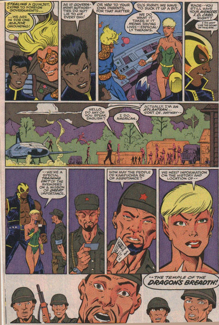 The New Warriors Issue #23 #27 - English 12