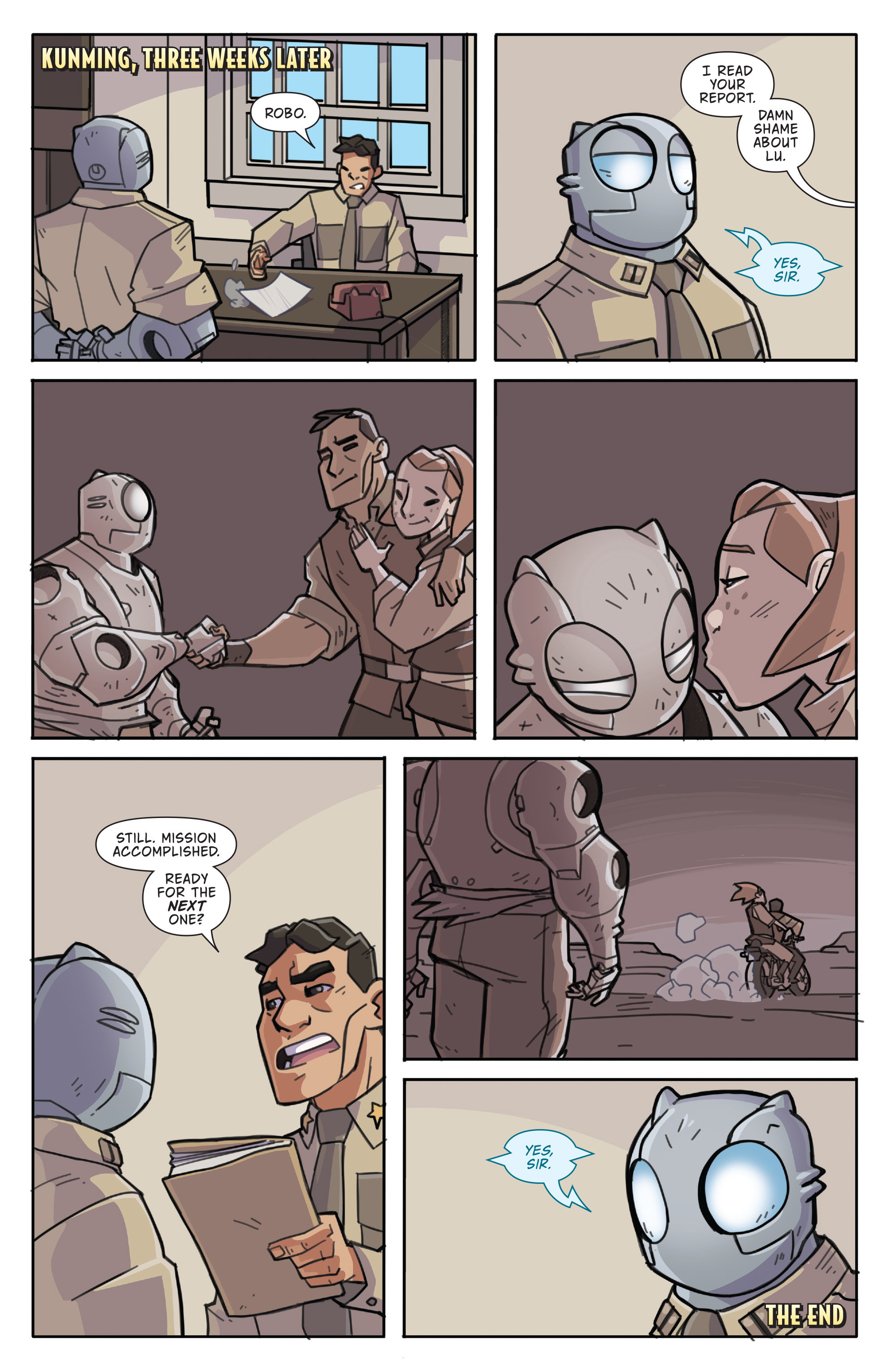 Read online Atomic Robo and the Temple of Od comic -  Issue #5 - 24
