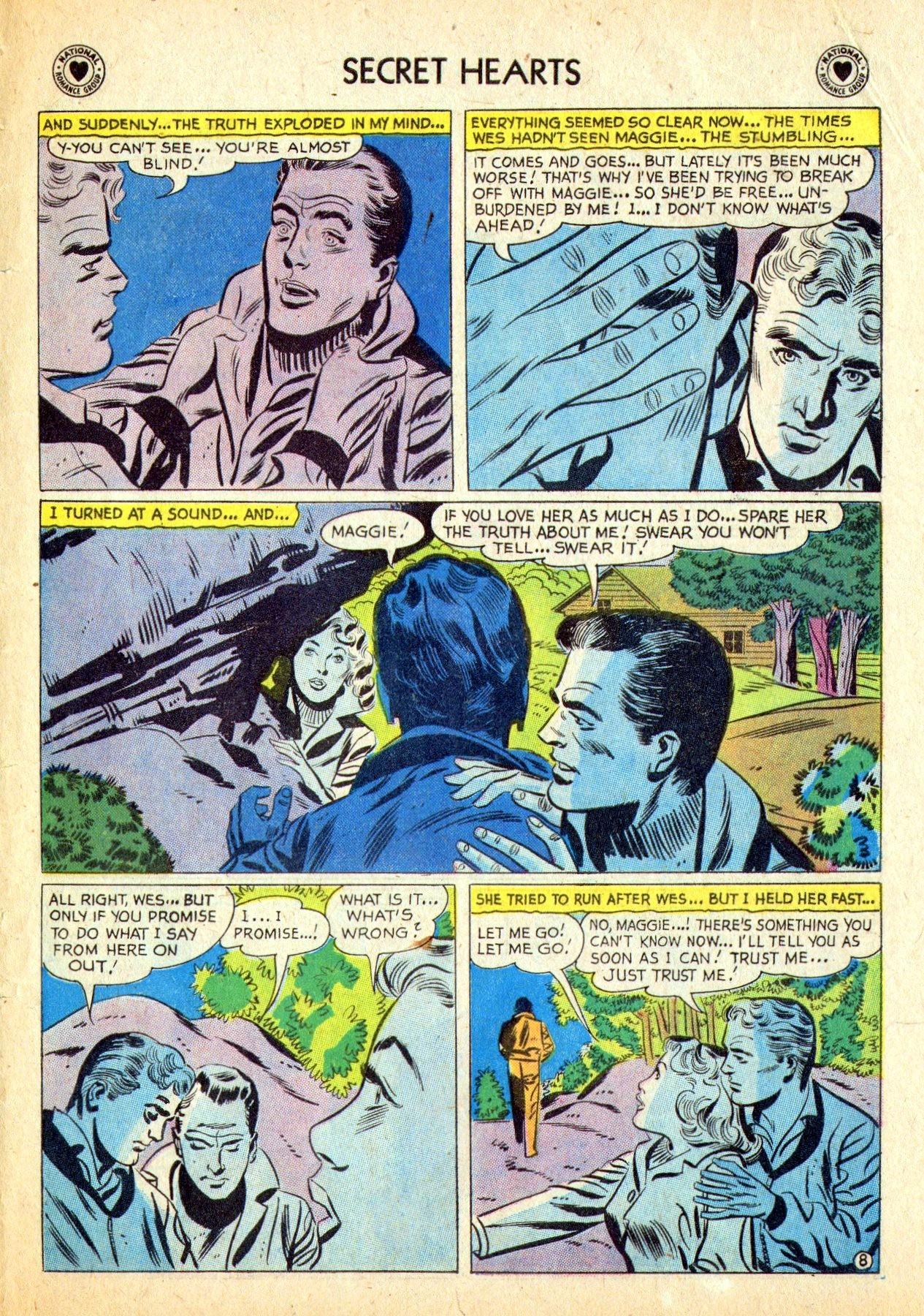 Read online Secret Hearts comic -  Issue #53 - 33