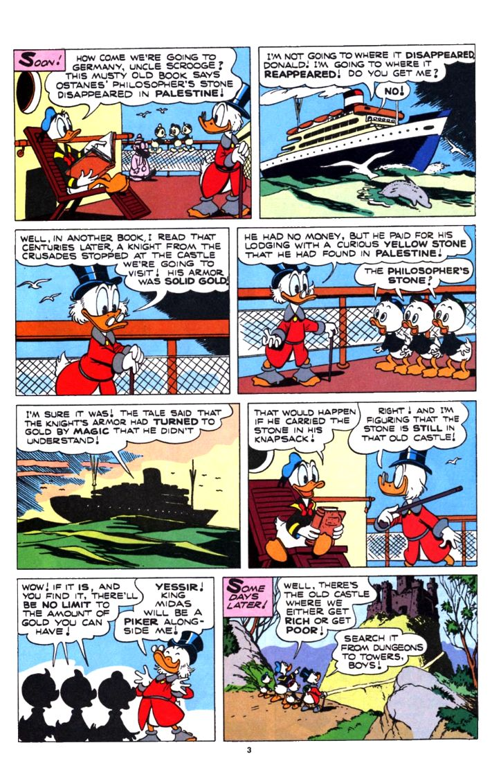 Read online Uncle Scrooge (1953) comic -  Issue #253 - 3