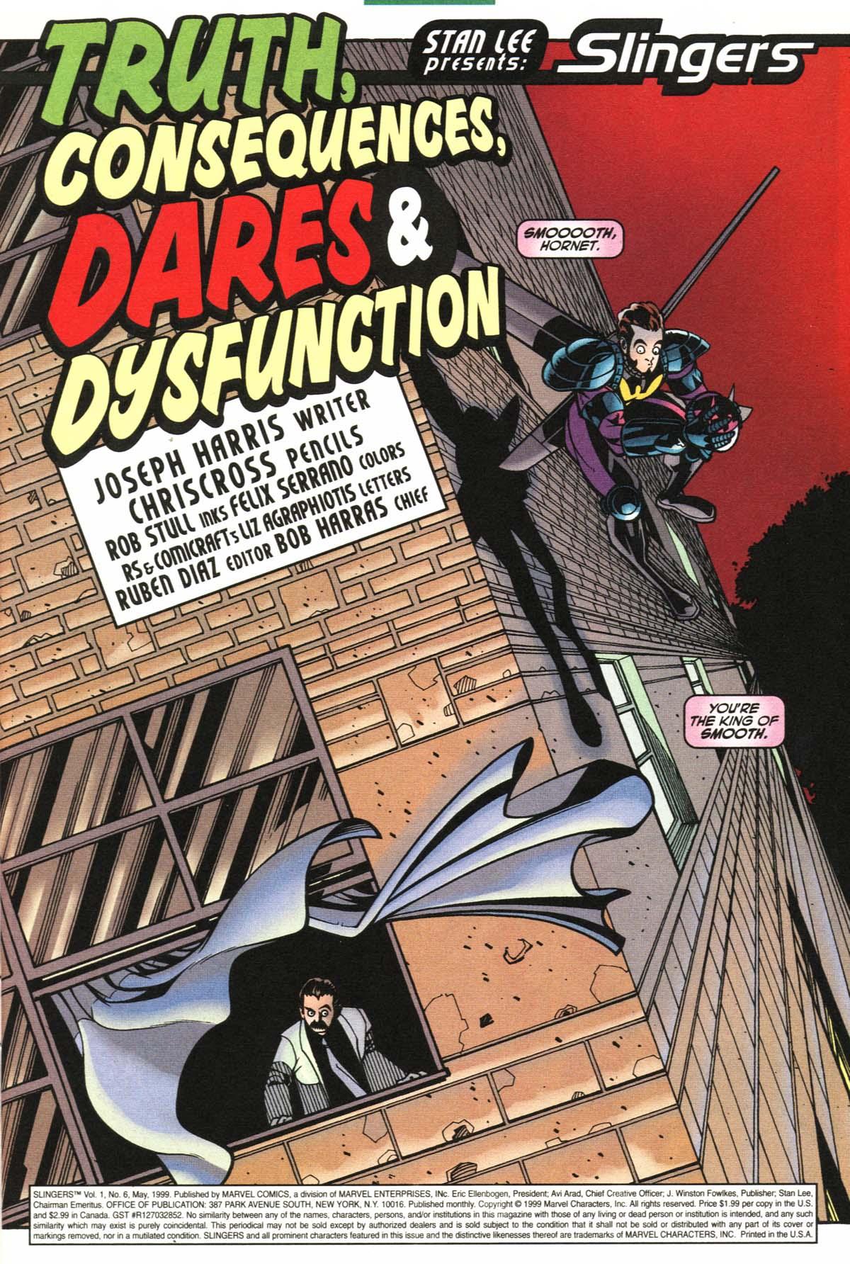 Read online Slingers comic -  Issue #6 - 4