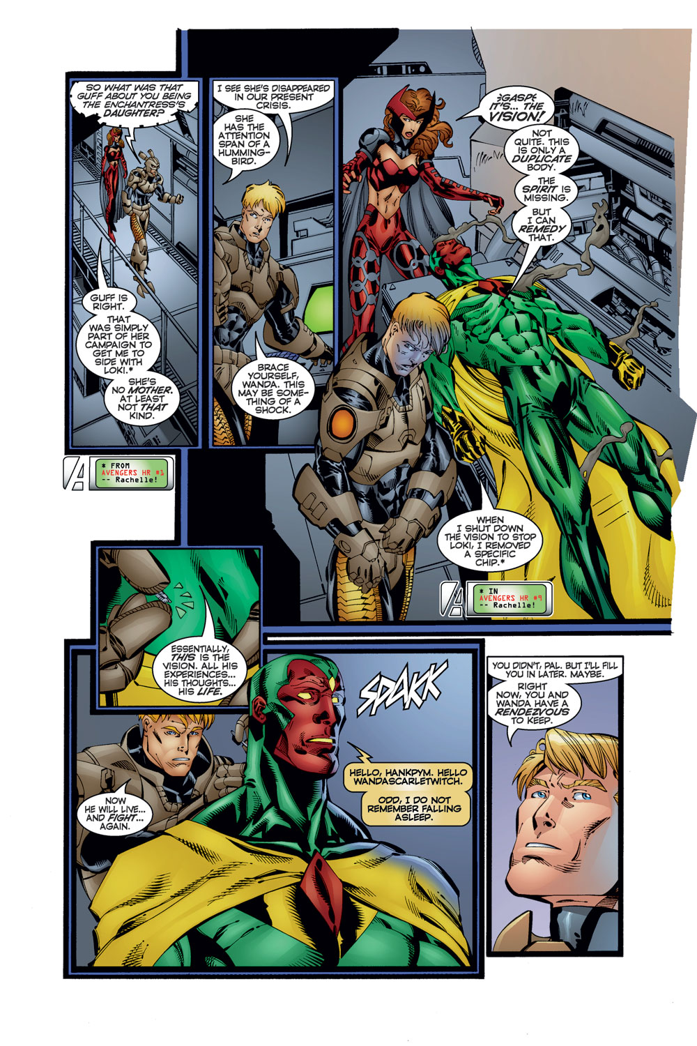 Read online Avengers (1996) comic -  Issue #12 - 11