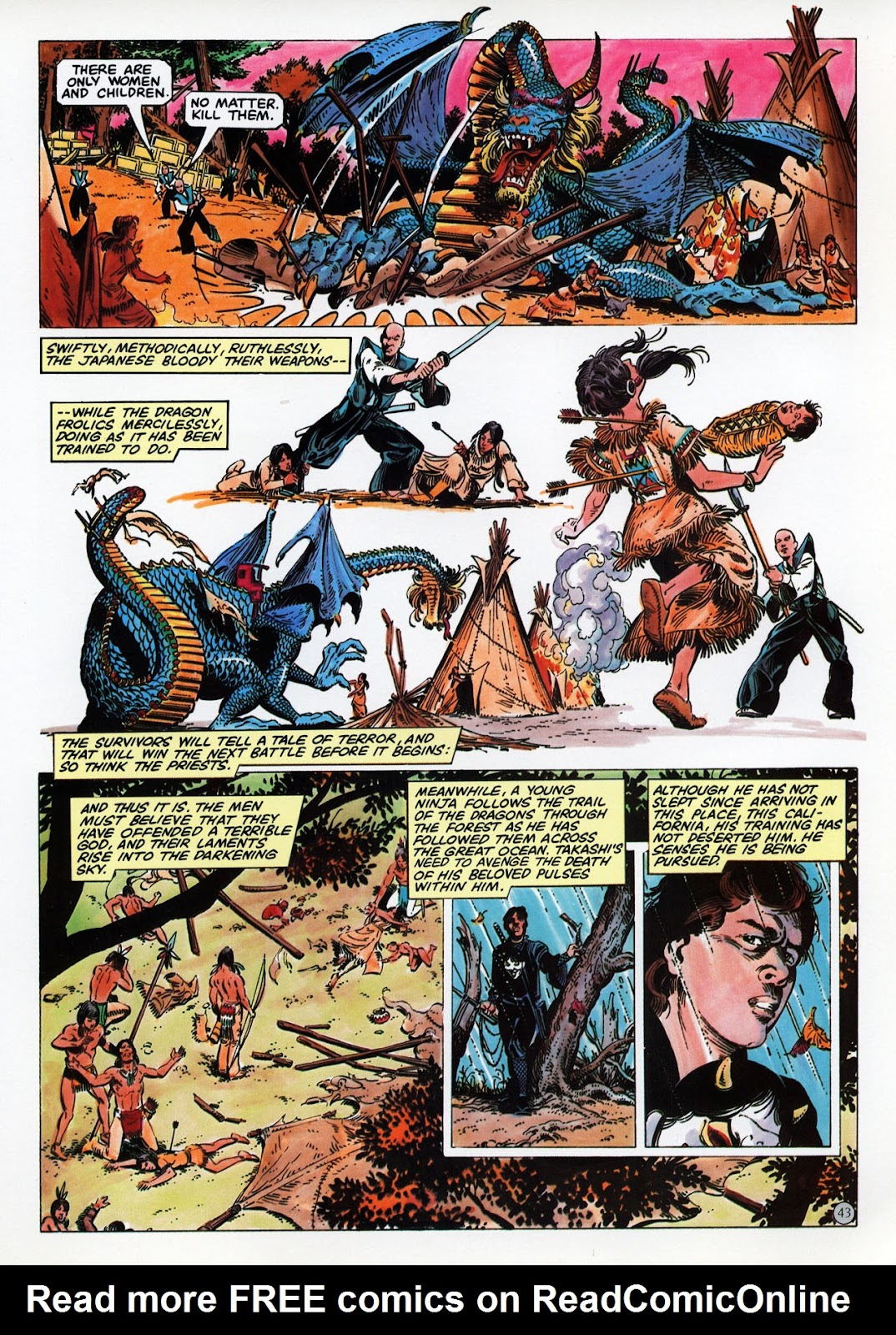 Read online Epic Graphic Novel: Last of the Dragons comic -  Issue # Full - 44
