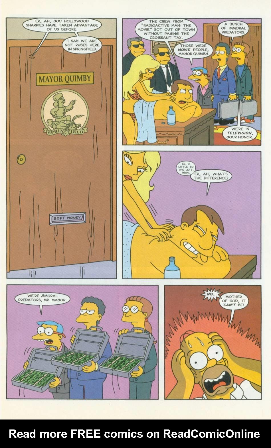 Read online Simpsons Comics comic -  Issue #42 - 6