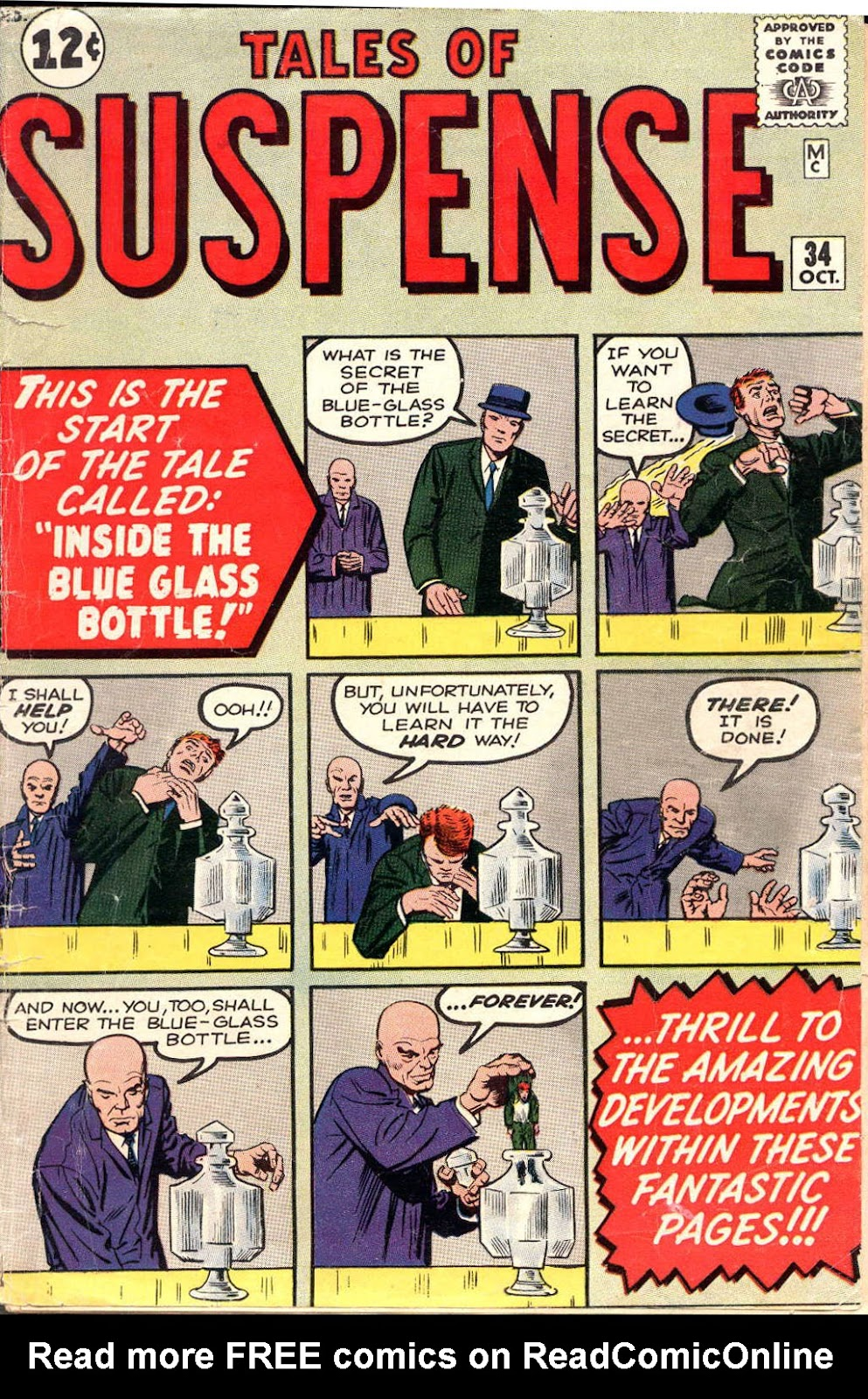 Tales of Suspense (1959) issue 34 - Page 1
