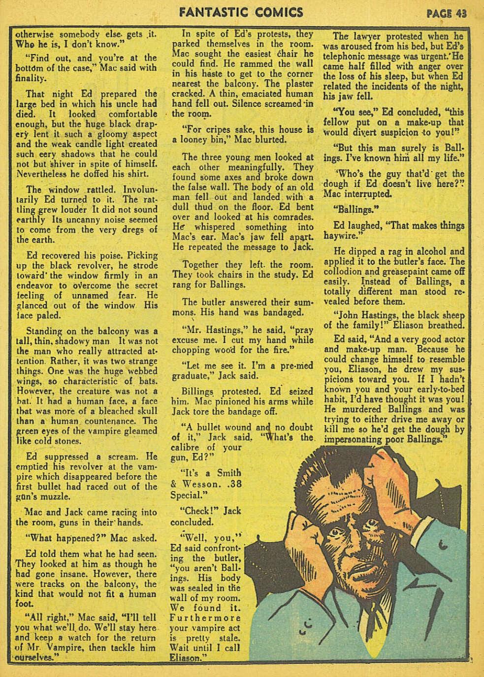 Read online Fantastic Comics comic -  Issue #15 - 37