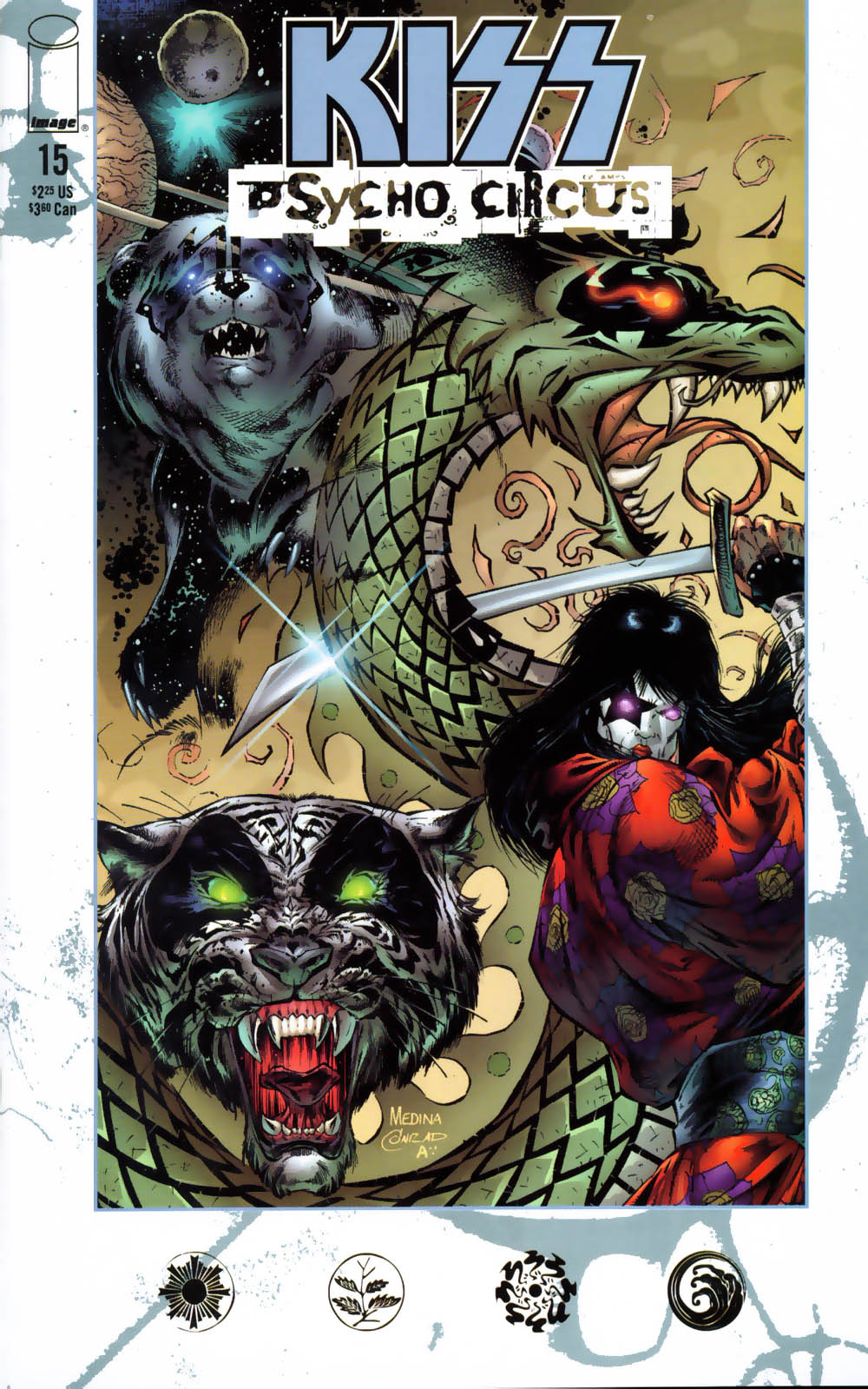 KISS: Psycho Circus issue 15 - Page 1