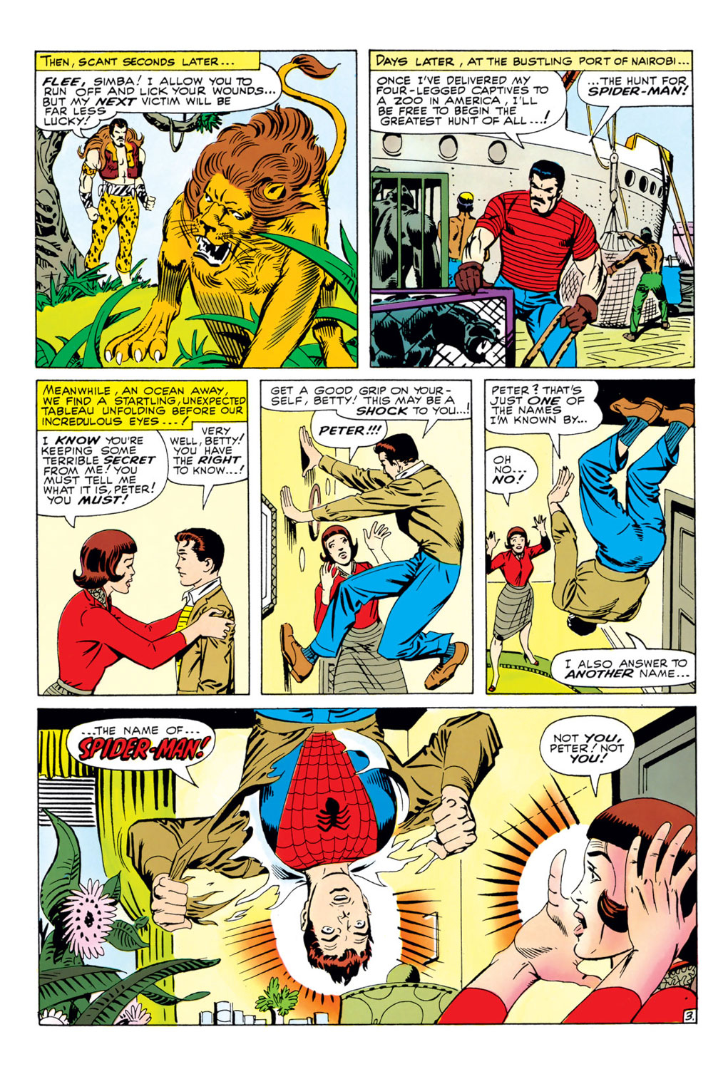 The Amazing Spider-Man (1963) 34 Page 3