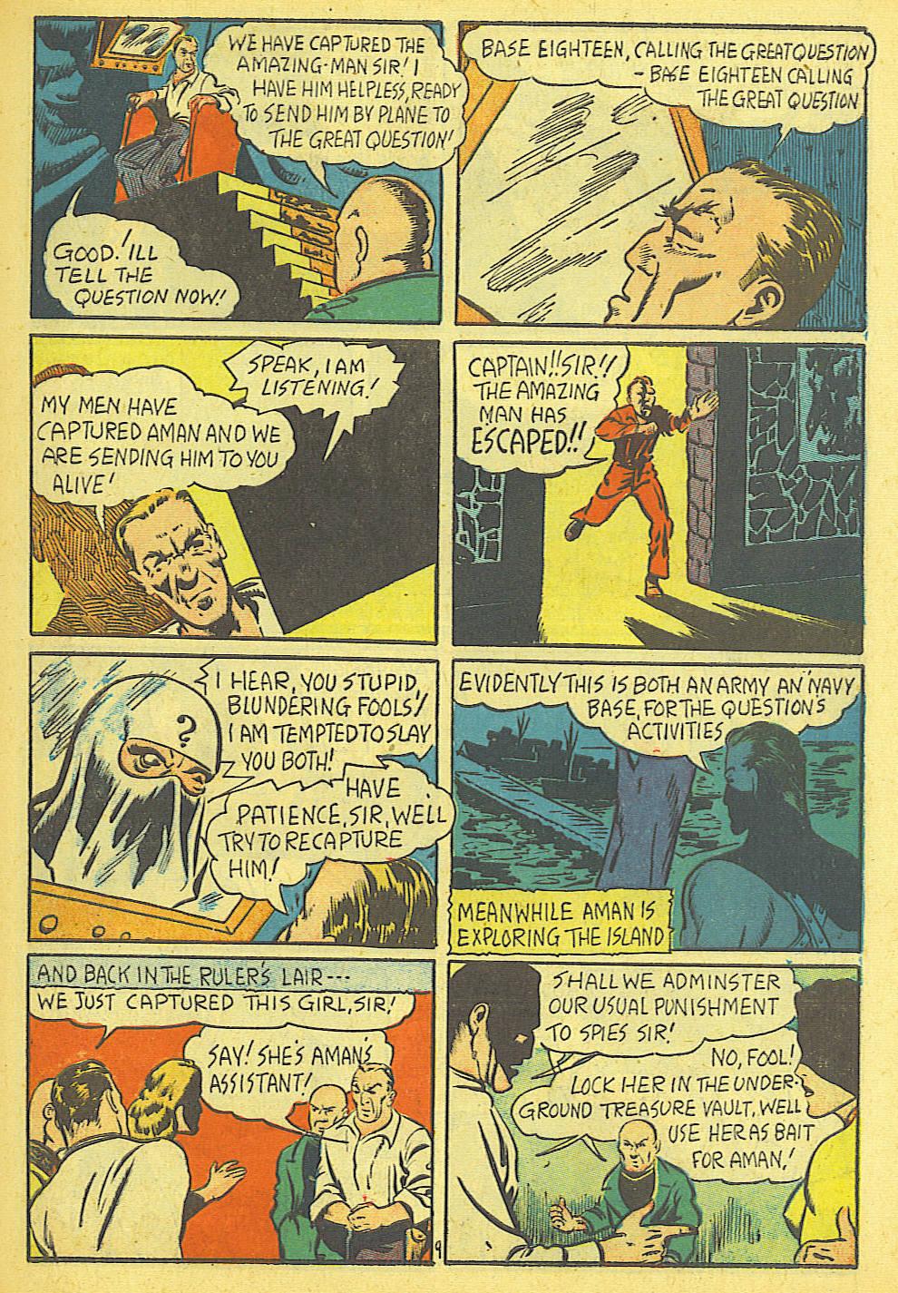 Amazing Man Comics issue 19 - Page 11