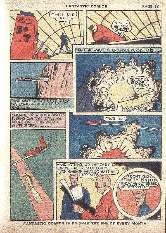 Read online Fantastic Comics comic -  Issue #4 - 35