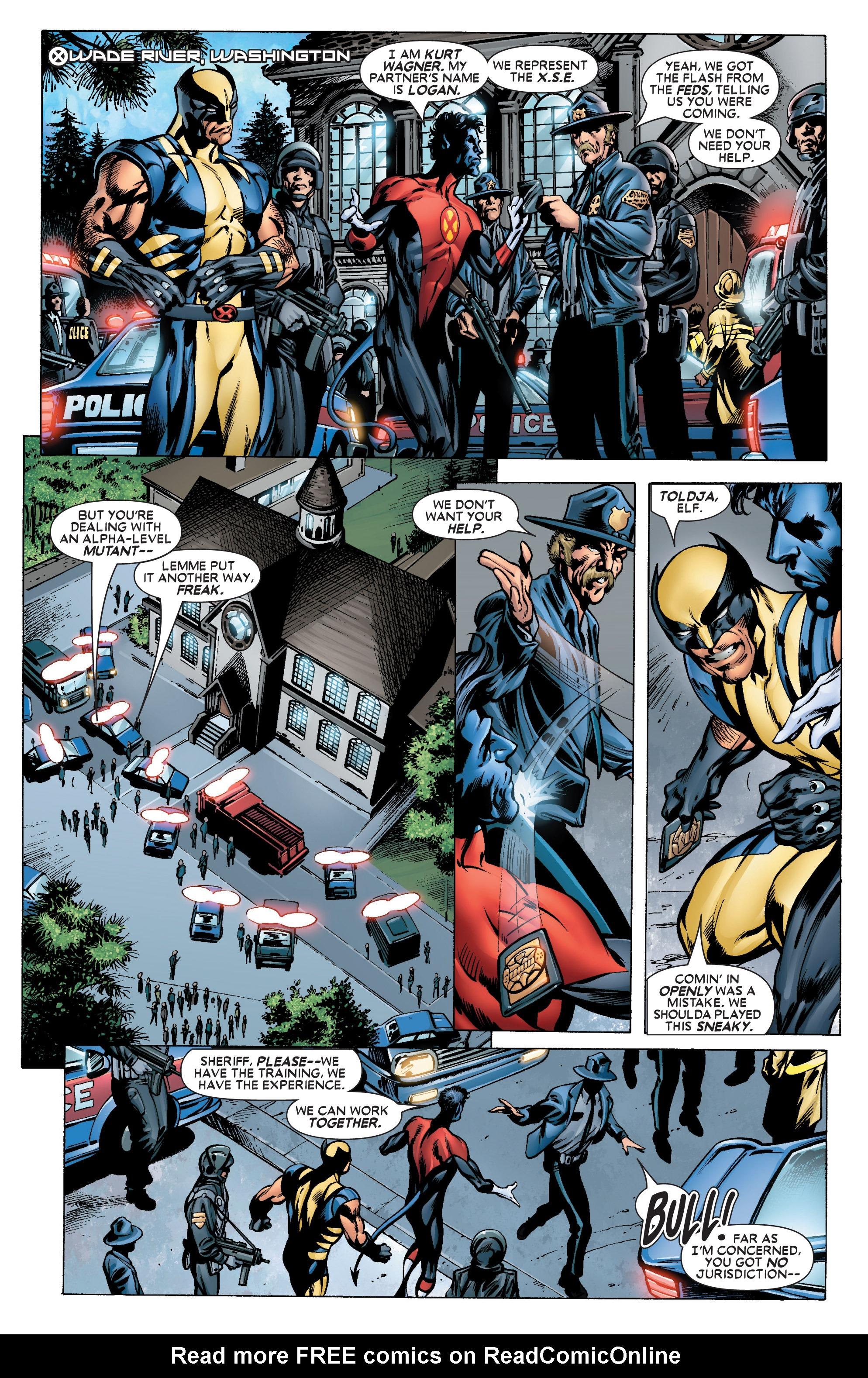 Read online Uncanny X-Men (1963) comic -  Issue #444 - 22