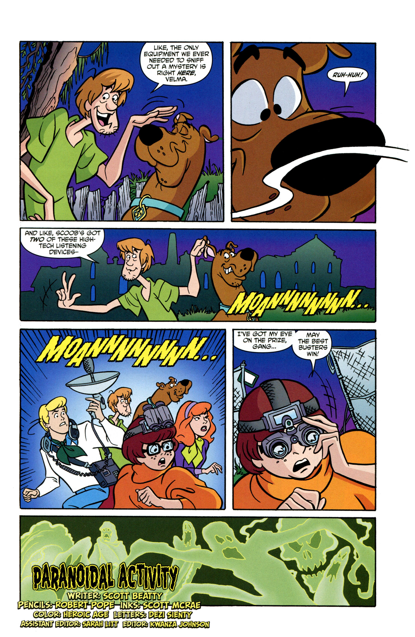 Read online Scooby-Doo: Where Are You? comic -  Issue #19 - 4