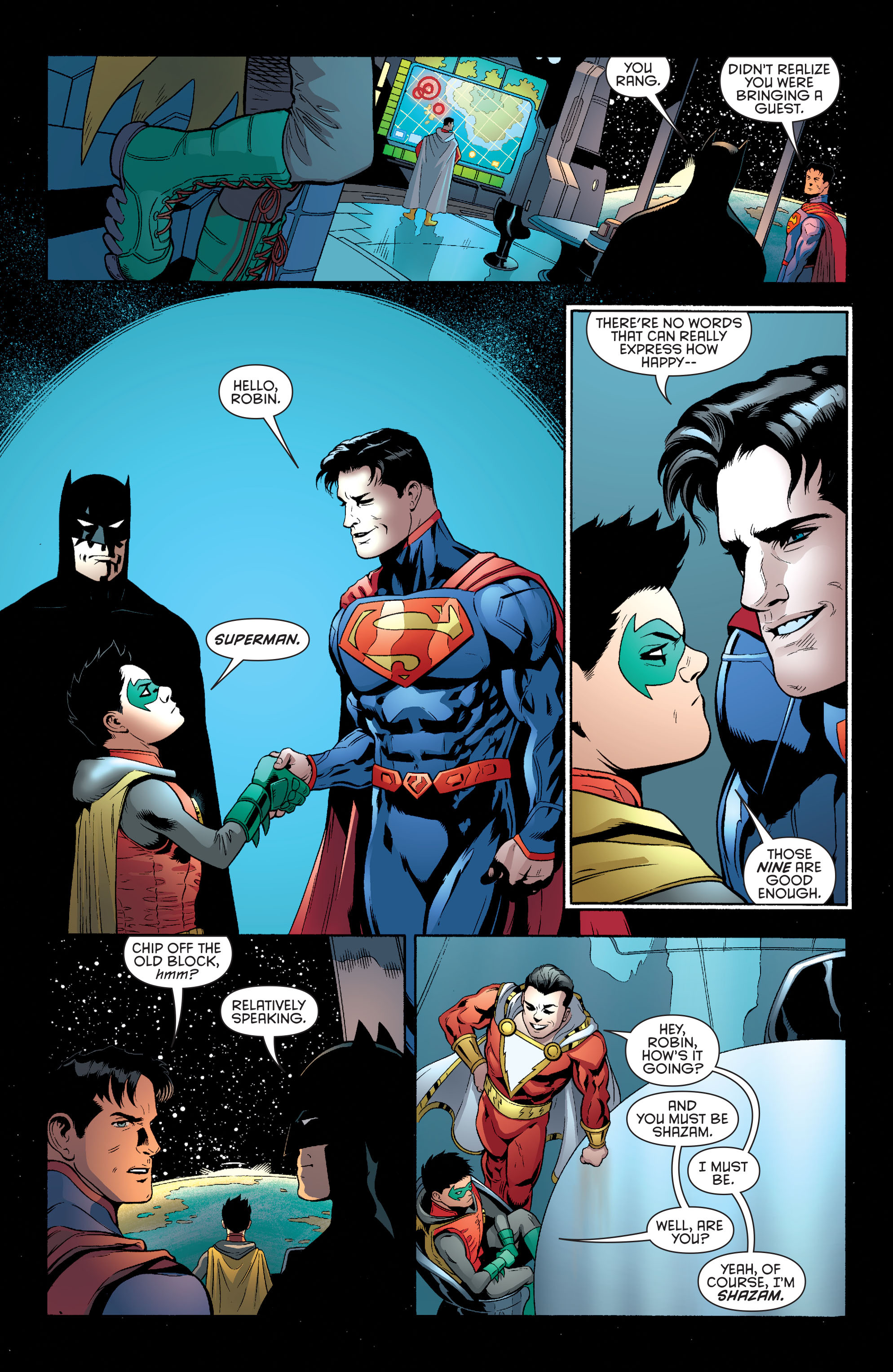Read online Batman and Robin (2011) comic -  Issue #39 - 17
