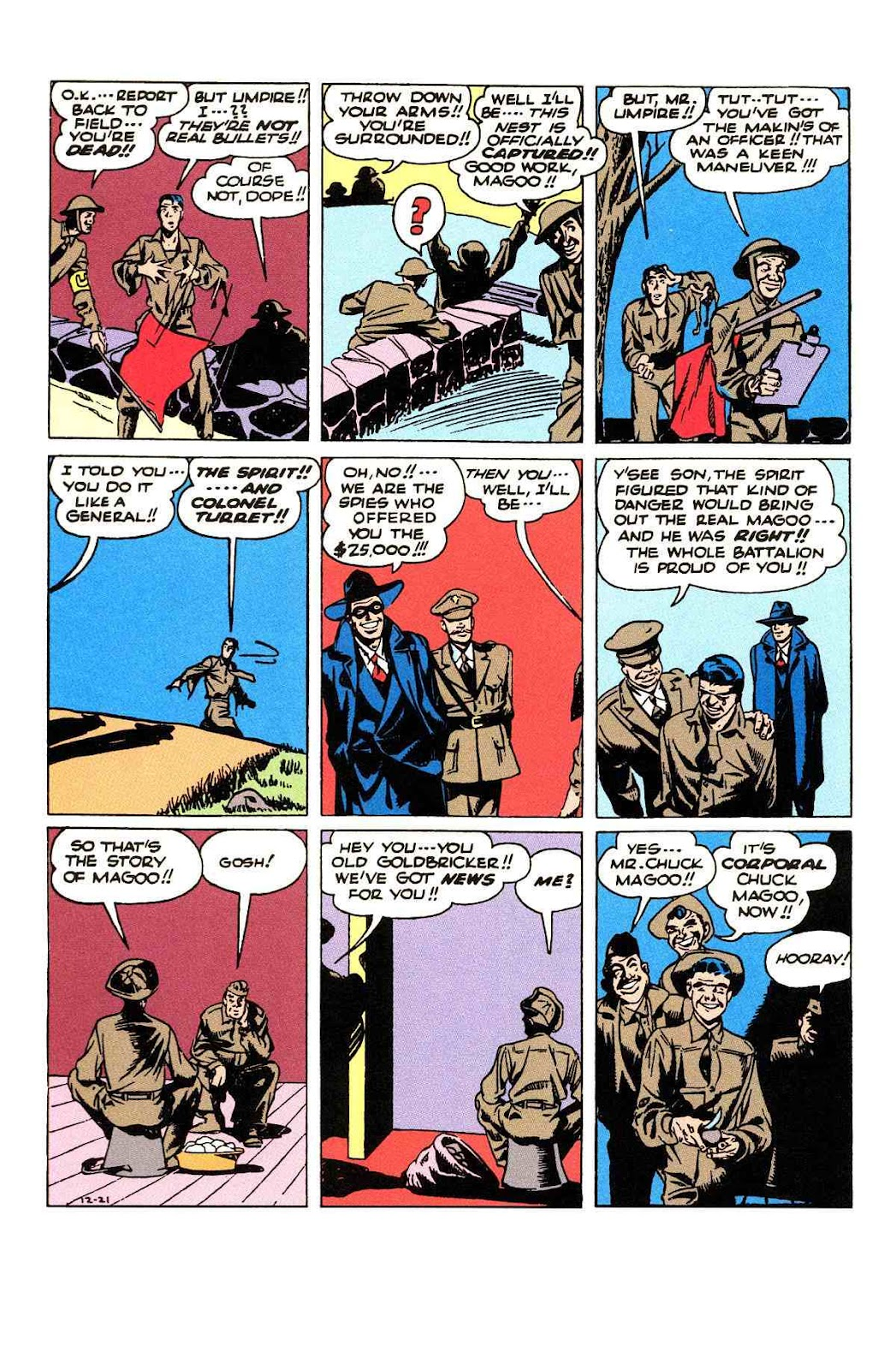 Read online Will Eisner's The Spirit Archives comic -  Issue # TPB 3 (Part 2) - 101