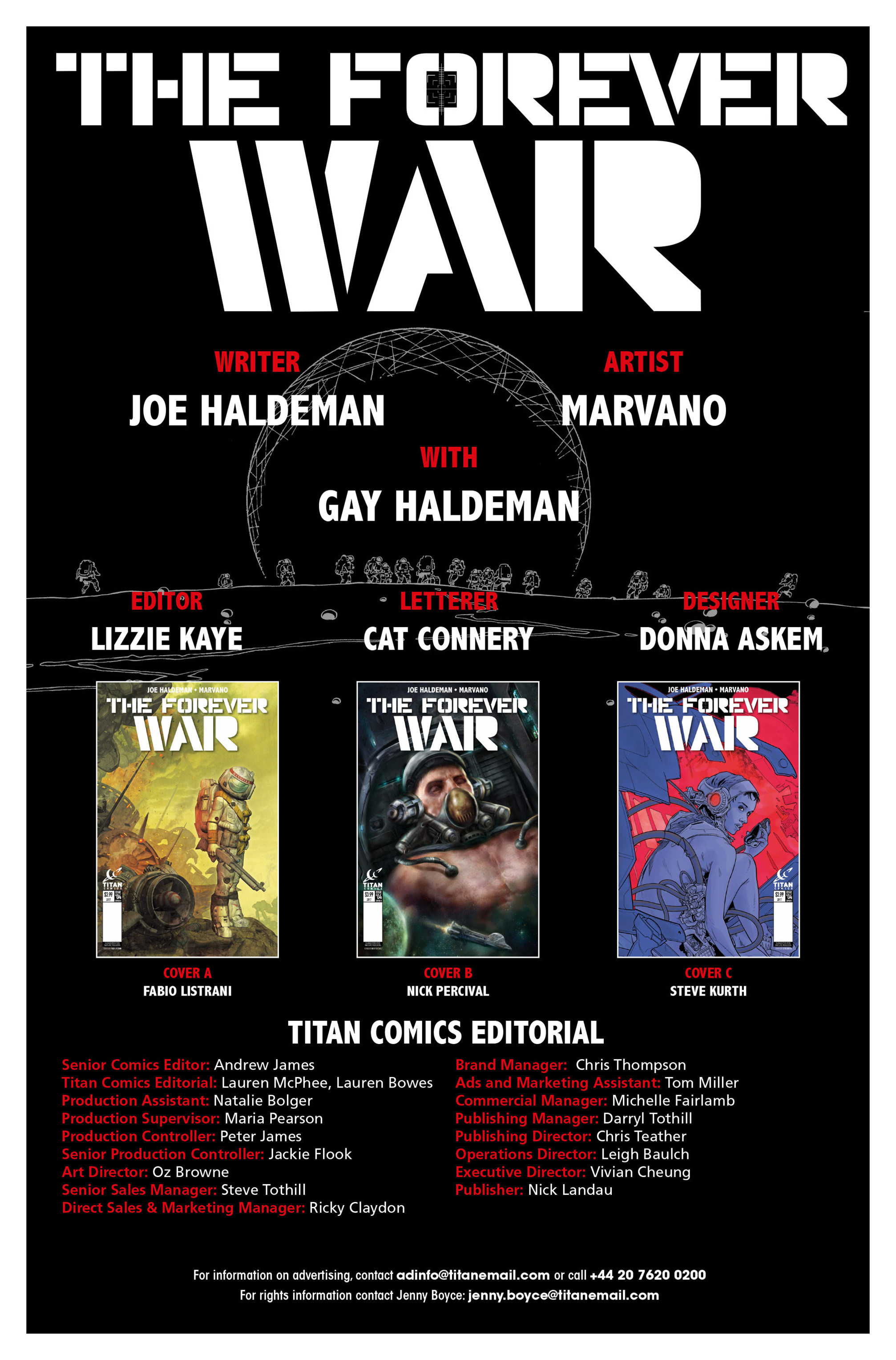 Read online The Forever War (2017) comic -  Issue #4 - 33