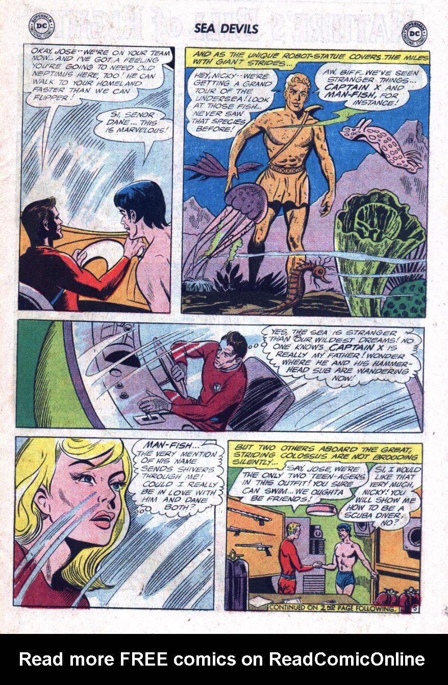 Read online Sea Devils comic -  Issue #25 - 8