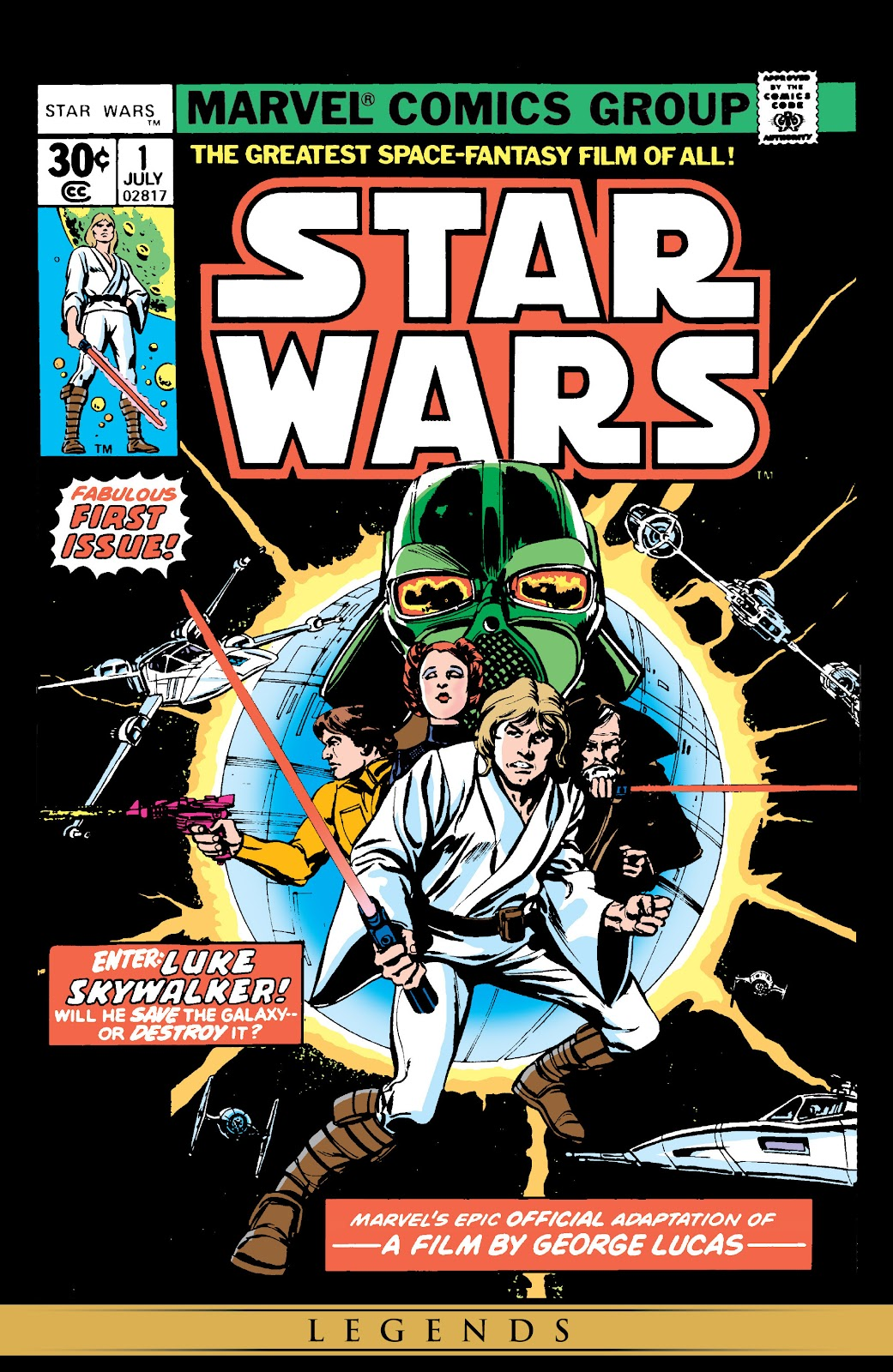 Read online Star Wars Legends: The Original Marvel Years - Epic Collection comic -  Issue # TPB 1 (Part 1) - 4