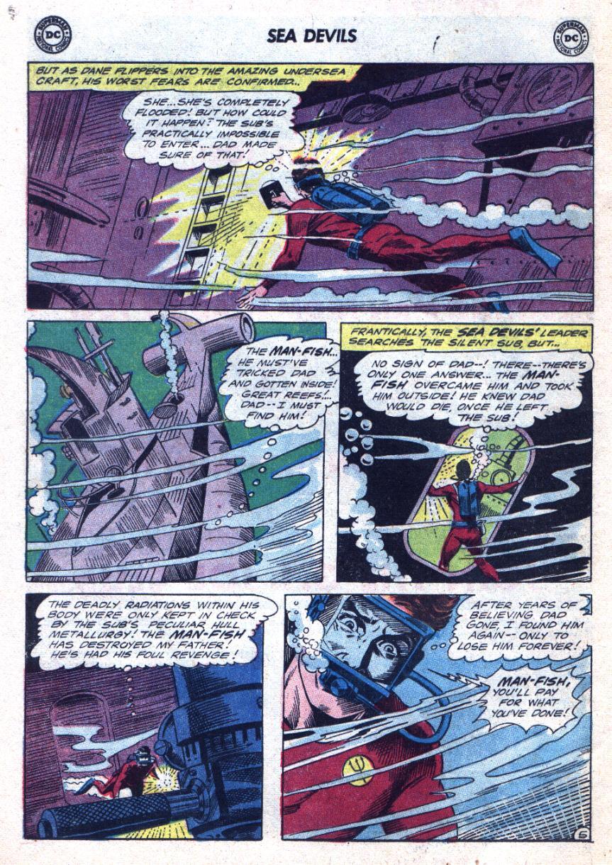 Read online Sea Devils comic -  Issue #24 - 9