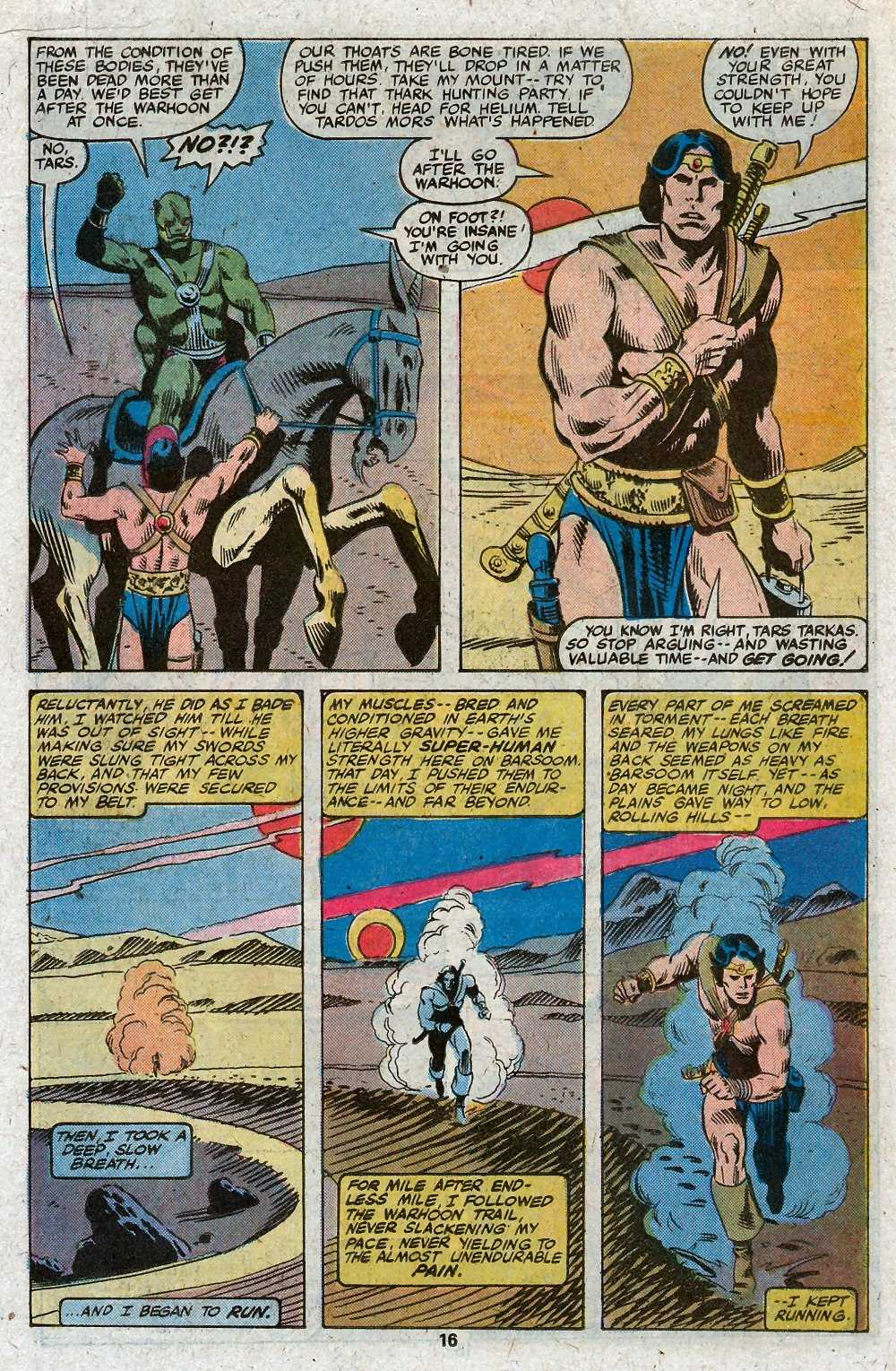 John Carter Warlord of Mars issue 27 - Page 18