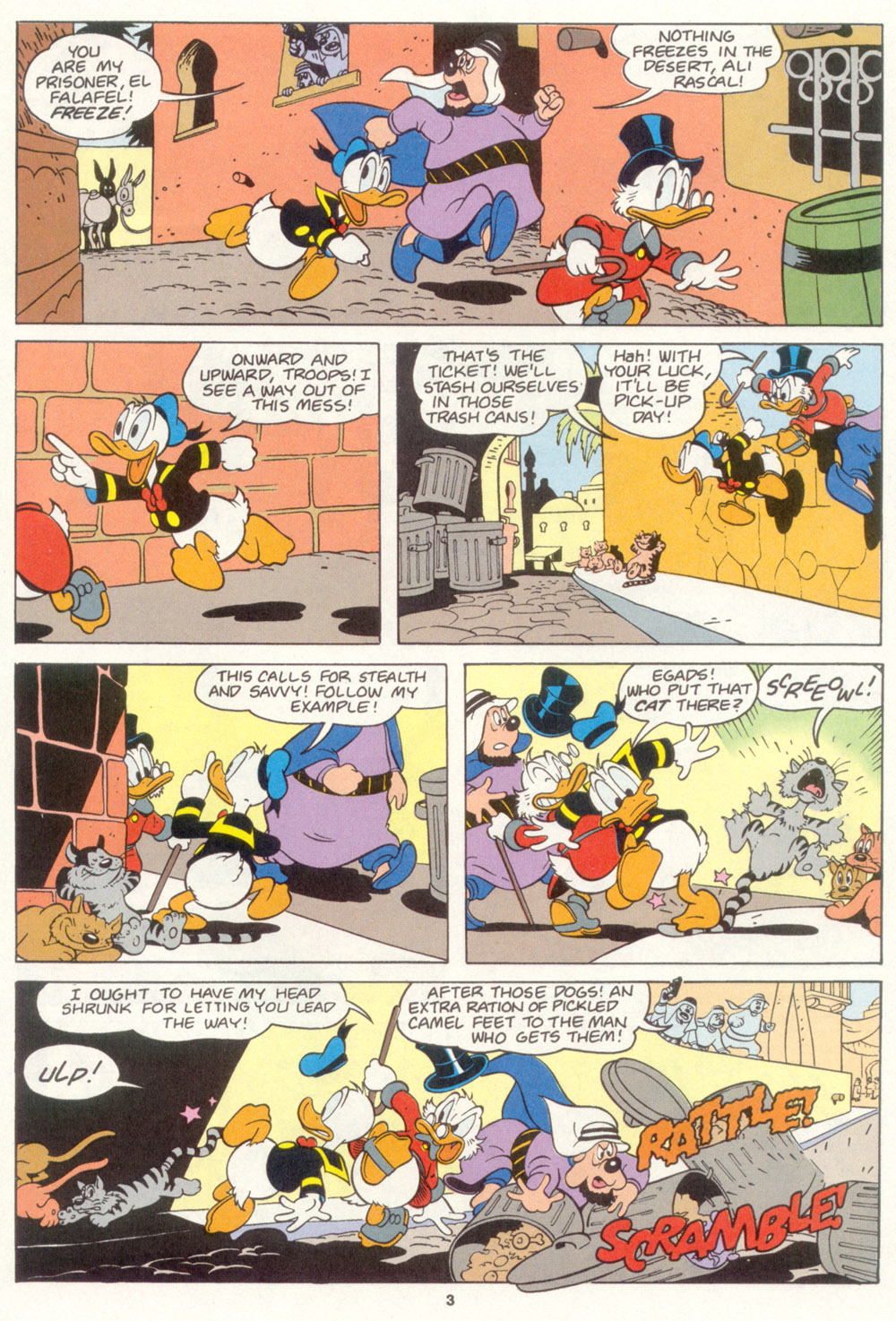 Read online Uncle Scrooge (1953) comic -  Issue #267 - 23