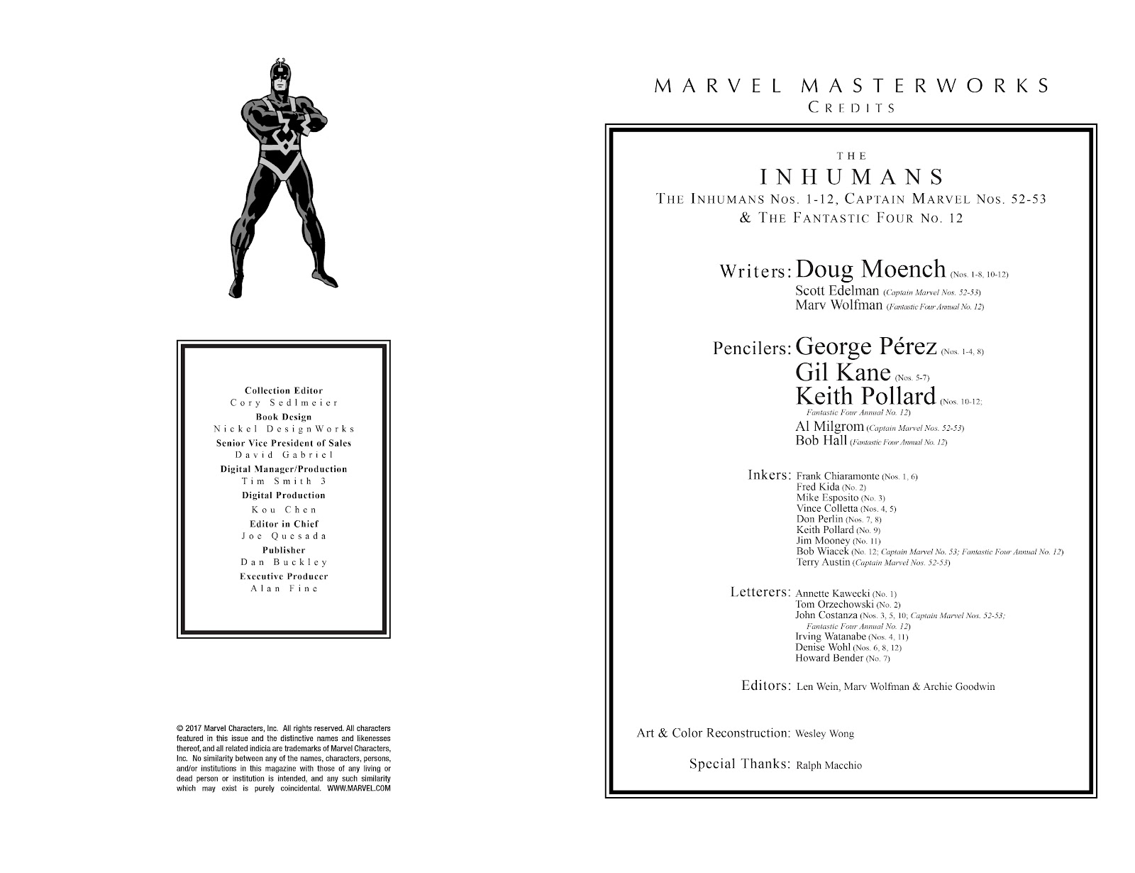 Read online Marvel Masterworks: The Inhumans comic -  Issue # TPB 2 (Part 1) - 3
