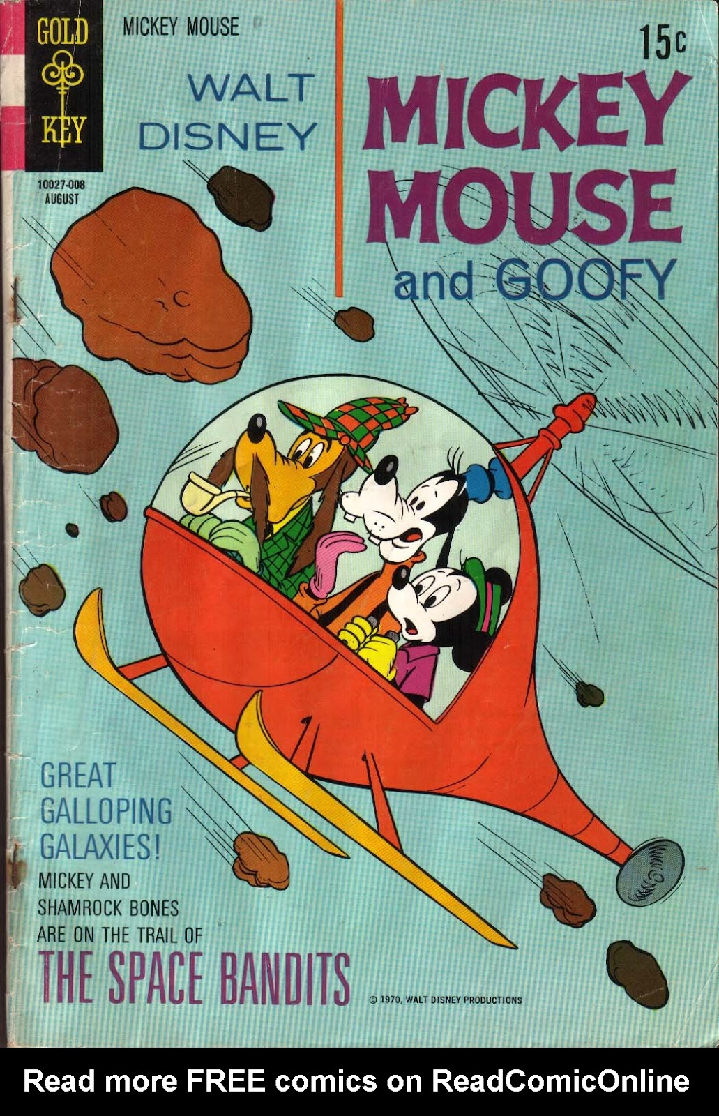 Walt Disney's Mickey Mouse issue 126 - Page 1