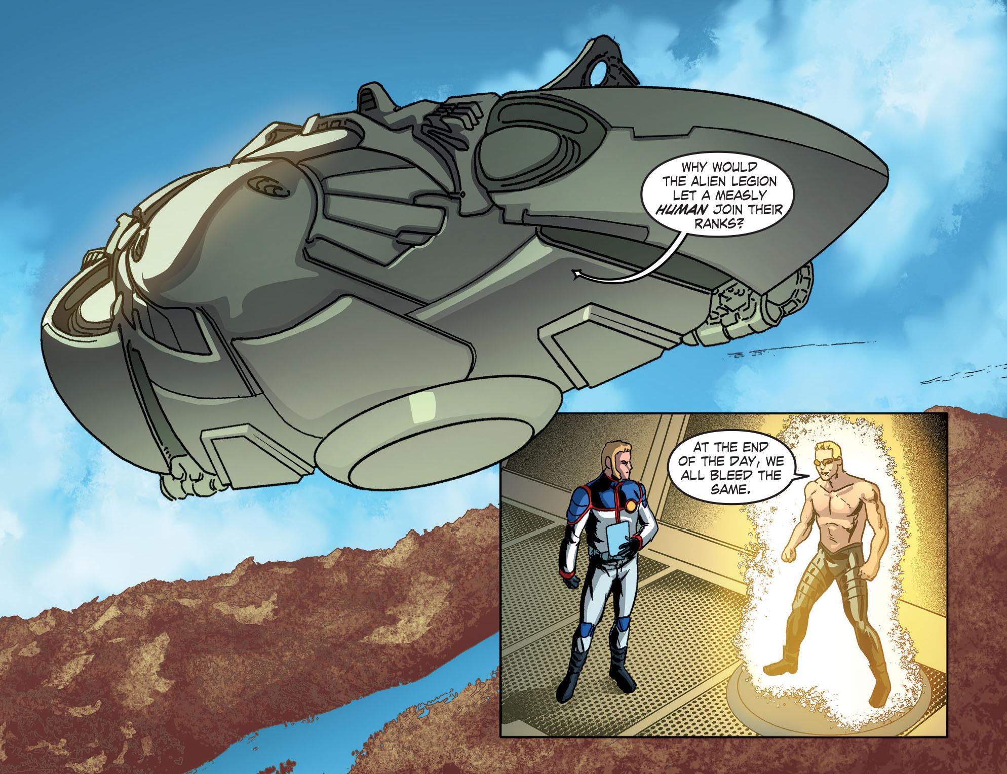 Read online Smallville: Season 11 comic -  Issue #51 - 3