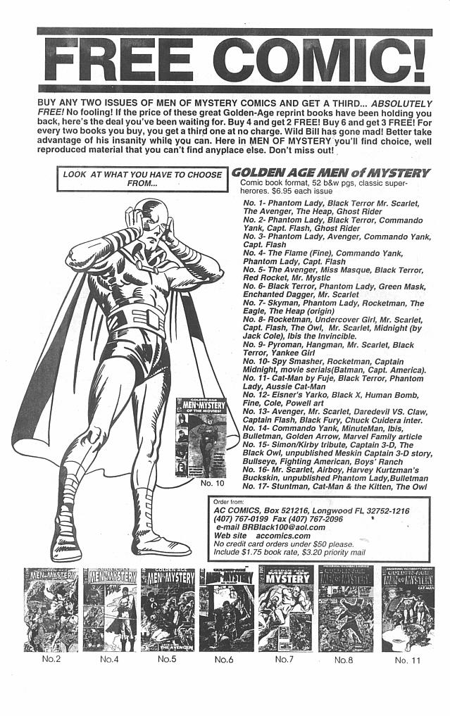 Read online Men of Mystery Comics comic -  Issue #22 - 34