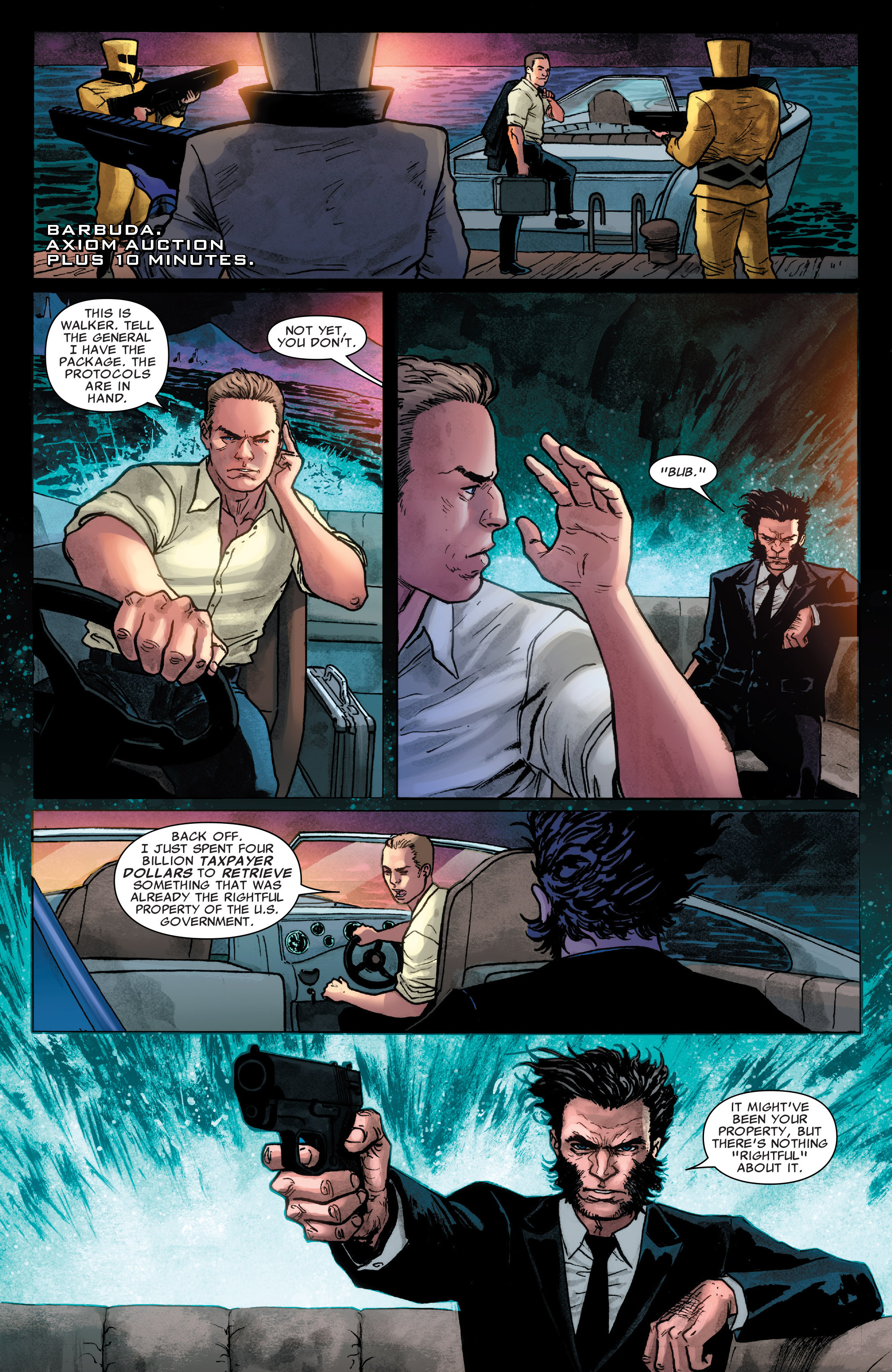 Read online Agents of S.H.I.E.L.D. comic -  Issue #4 - 20