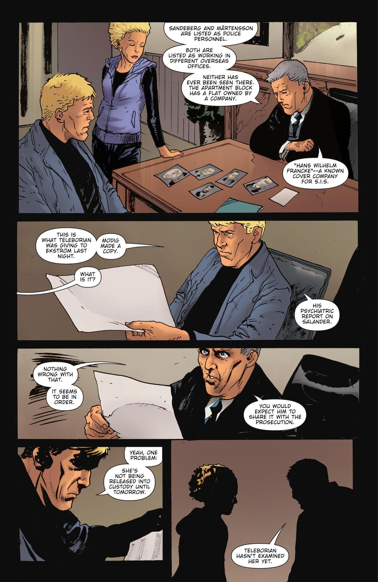 Read online The Girl Who Kicked The Hornet's Nest comic -  Issue # TPB - 193
