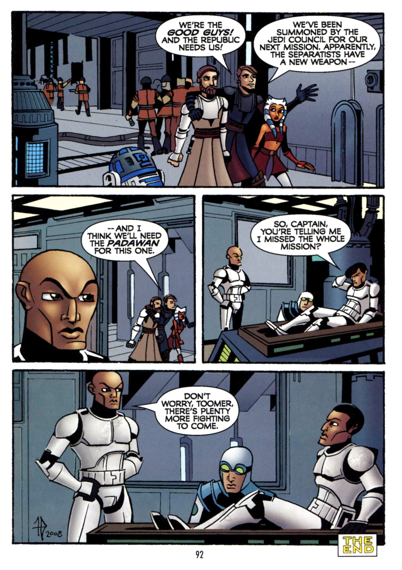 Read online Star Wars: The Clone Wars - Shipyards of Doom comic -  Issue # Full - 90