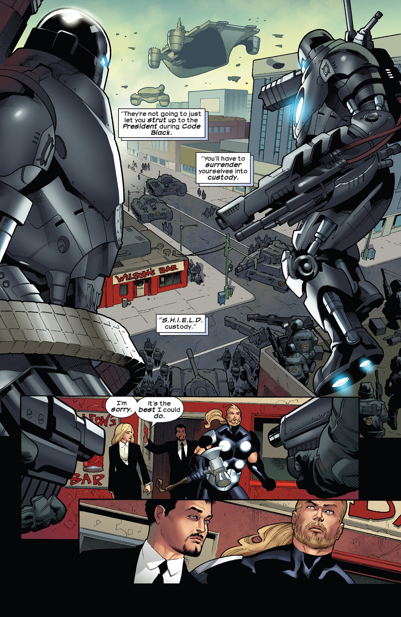 Read online Ultimate Comics Ultimates comic -  Issue #11 - 11