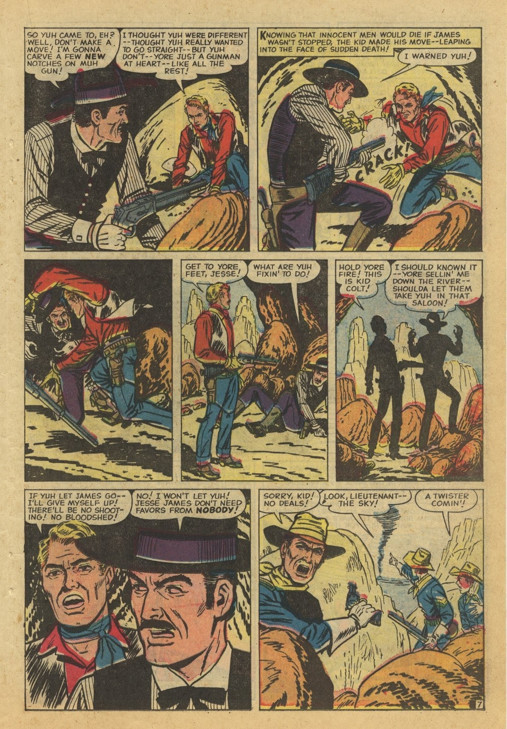 Kid Colt Outlaw issue 82 - Page 23