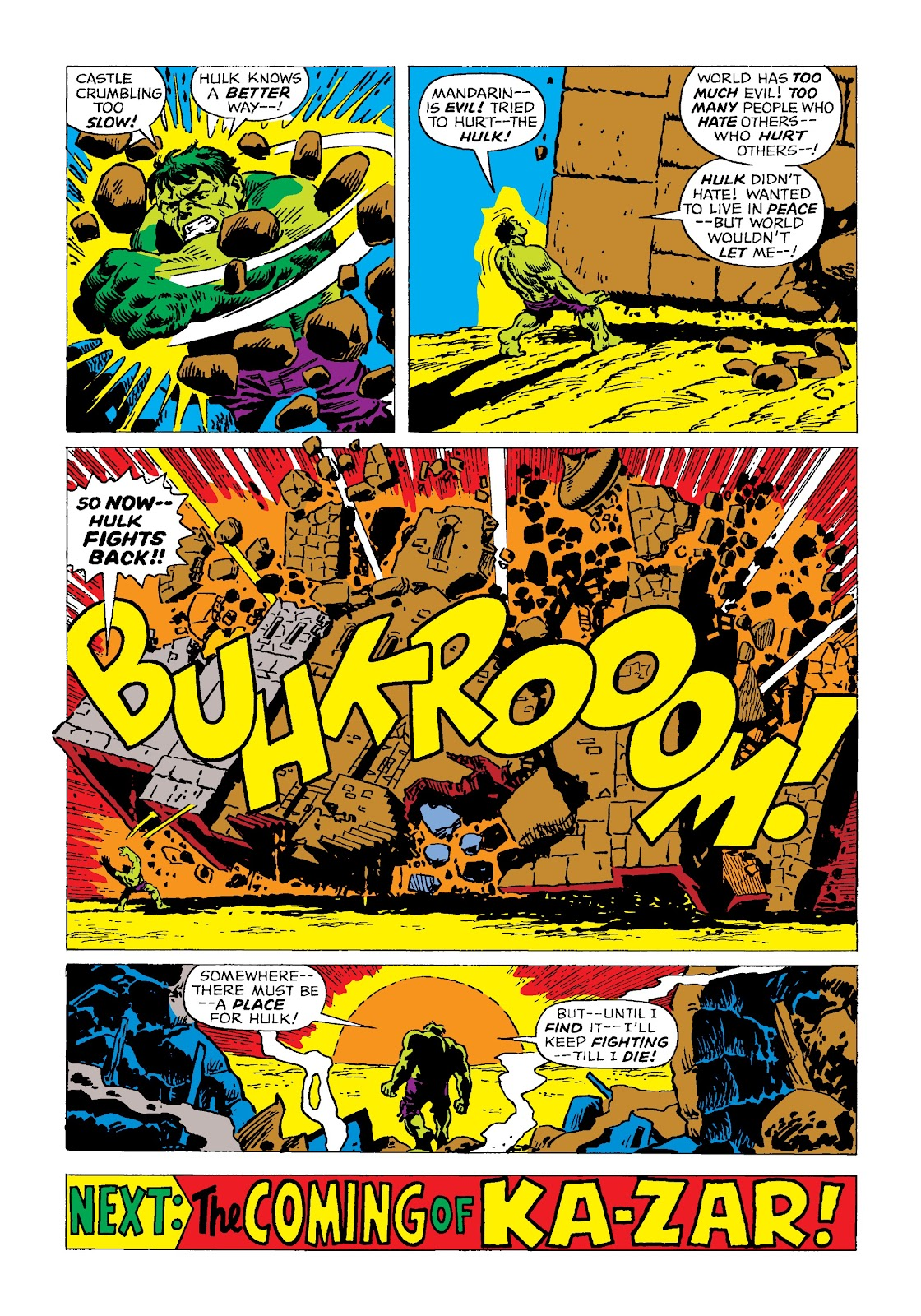 Read online Marvel Masterworks: The Incredible Hulk comic -  Issue # TPB 4 (Part 2) - 32