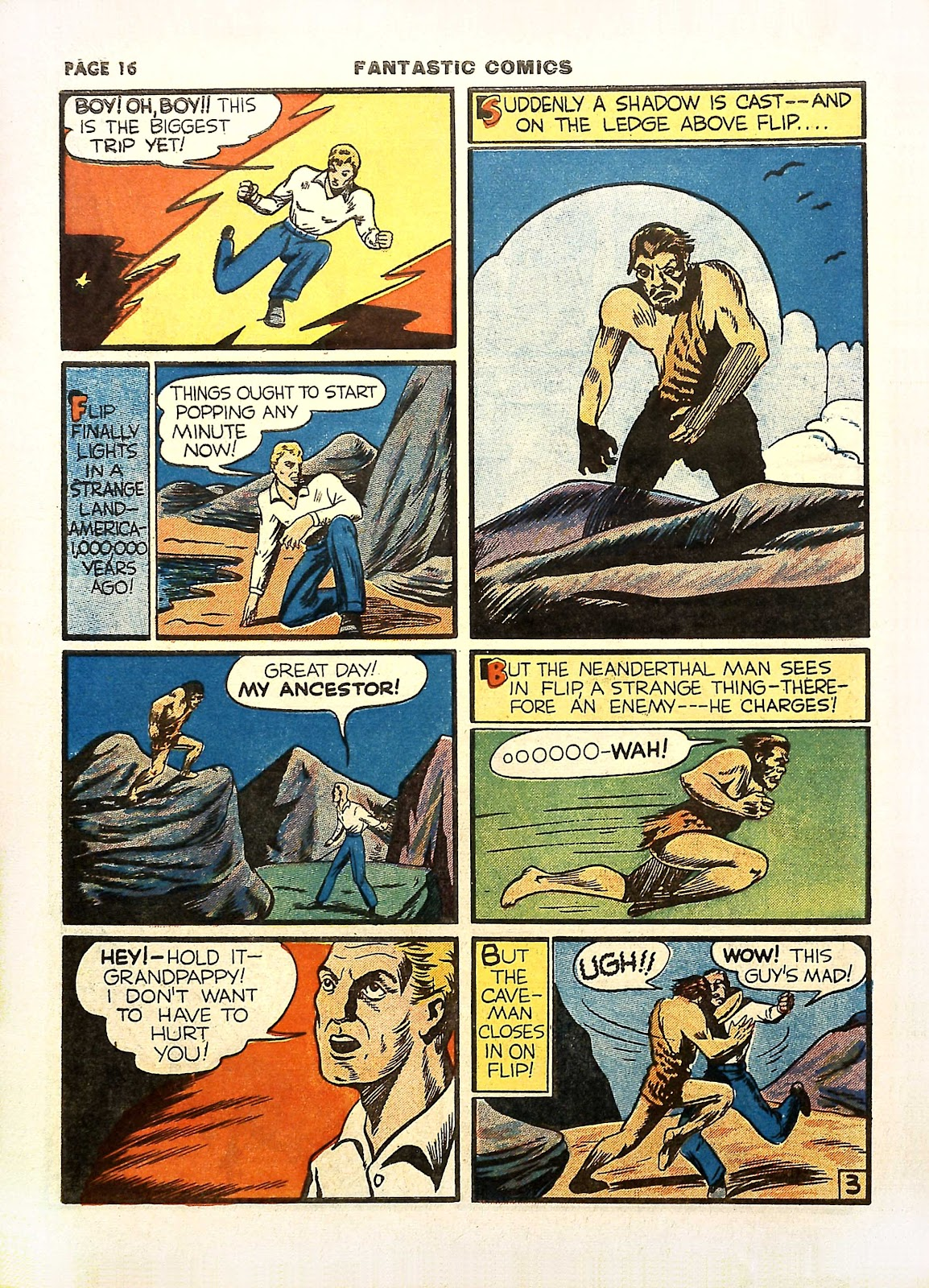 Read online Fantastic Comics comic -  Issue #11 - 19